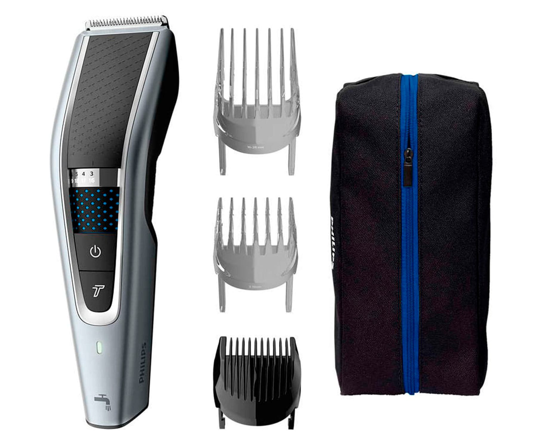 PHILIPS HC5630/15 GRIS CORTAPELOS LAVABLE HAIRCLIPPER SERIES 5000