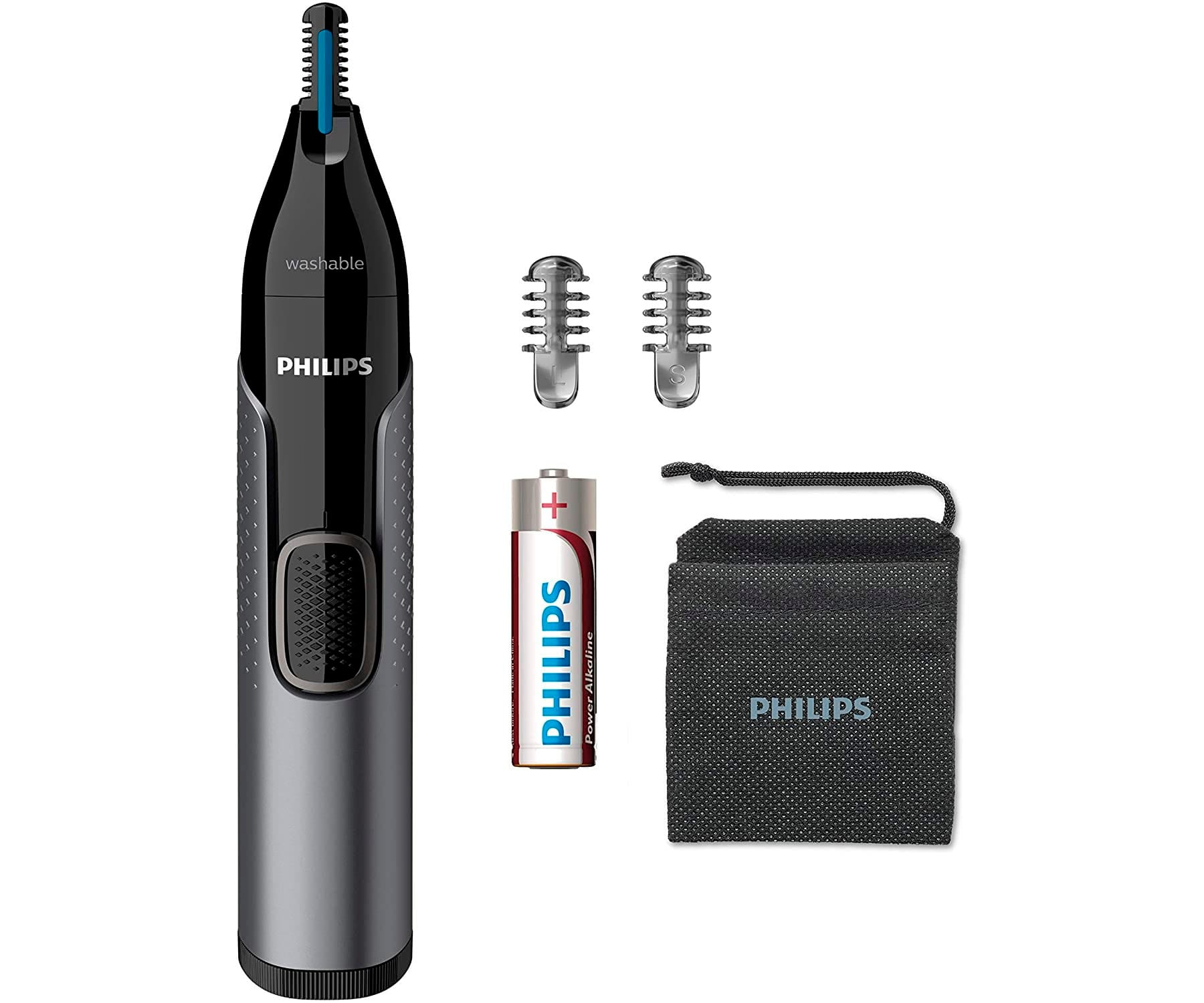 PHILIPS NT3650/16 RECORTADORA DE NARIZ ELÉCTRICA NOSE TRIMMER SERIES 3000