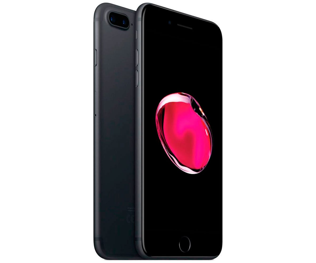APPLE IPHONE 7 PLUS 32GB NEGRO MATE REACONDICIONADO CPO MÓVIL 4G 5.5'' RETINA FHD/4CORE/32GB/3GB RAM/12MP+12MP/7MP