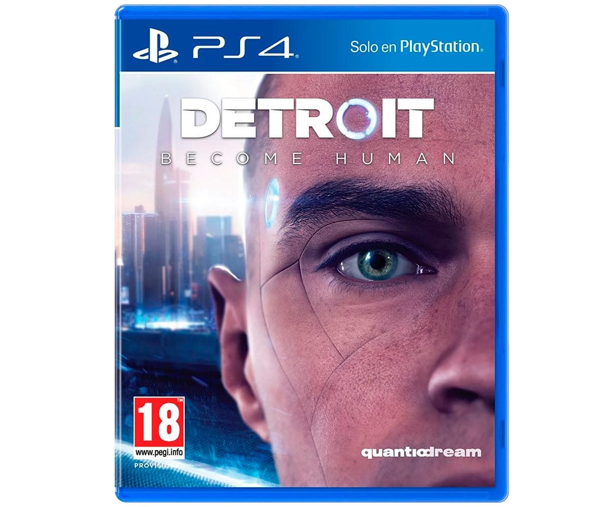 SONY JUEGO PS4 DETROIT: BECOME HUMAN CON BLURAY DE REGALO