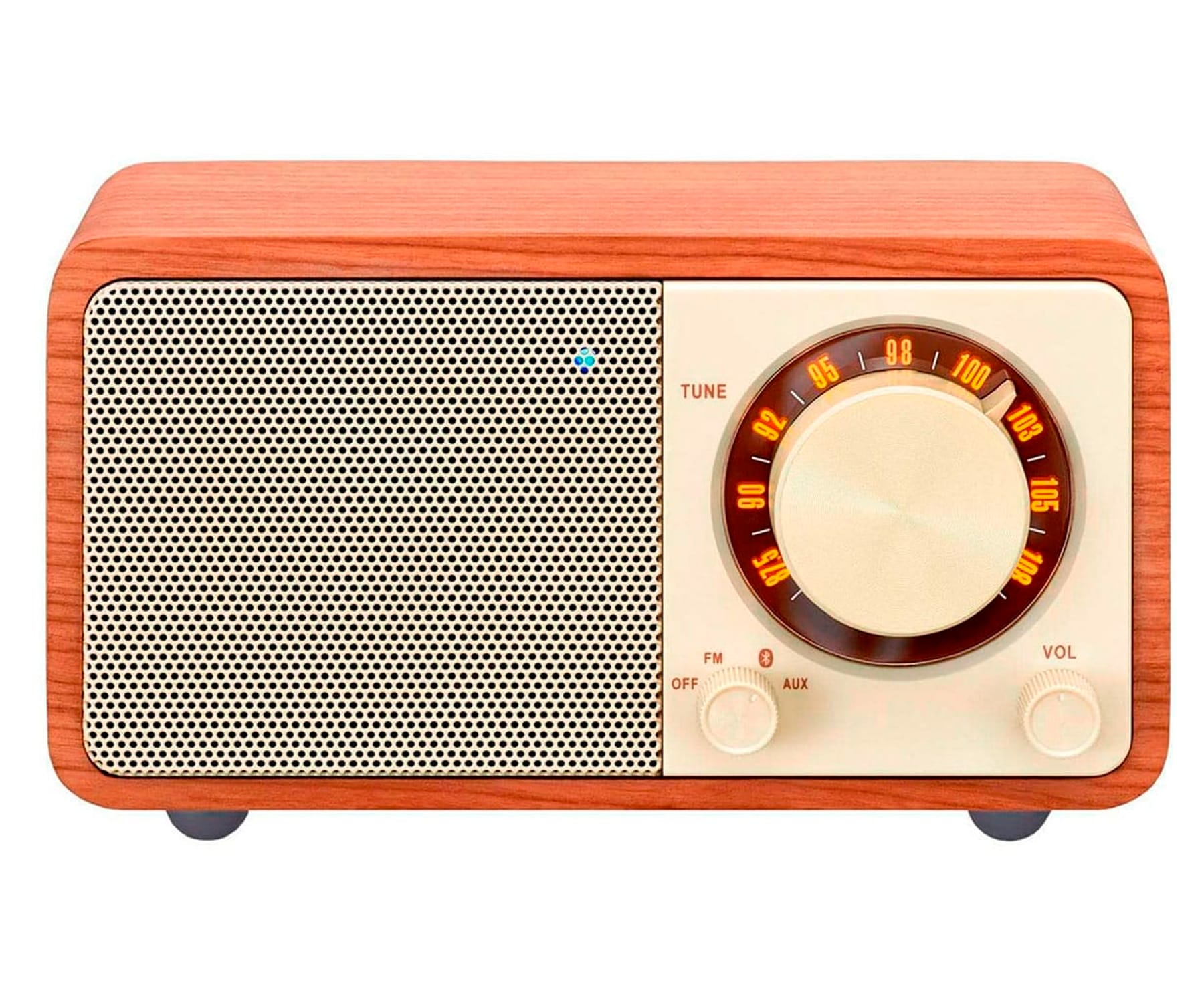 SANGEAN WR-7 NUEZ RADIO ANALÓGICA SOBREMESA FM BLUETOOTH BATERÍA LI-ION RECARGABLE