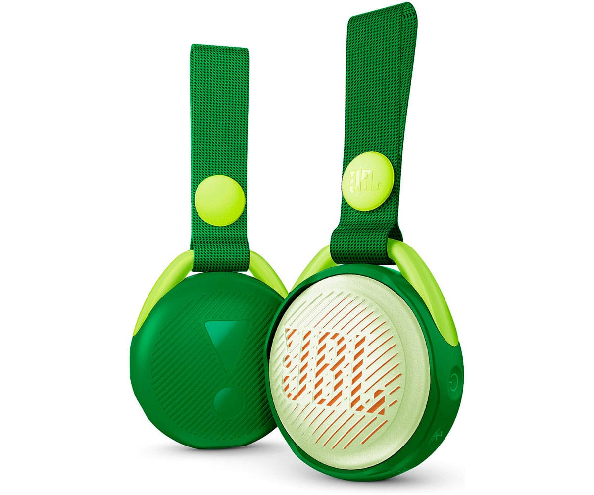 JBL JR POP VERDE ALTAVOZ PORTÁTIL 3W BLUETOOTH CORREA INTEGRADO IMPERMEABLE
