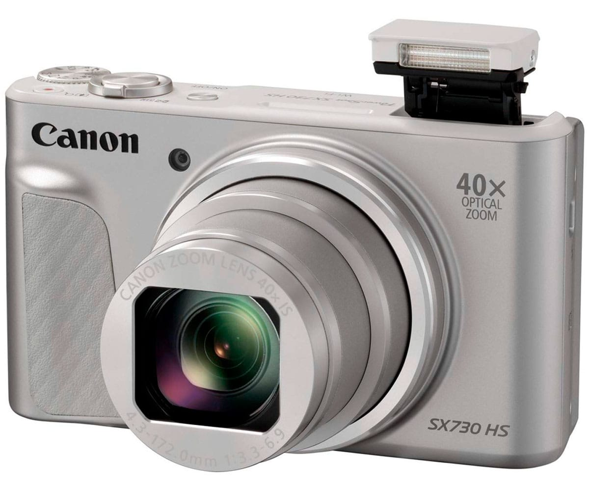 CANON POWERSHOT SX730 HS PLATA CÁMARA DE FOTOS DIGITAL COMPACTA 20.3MP FHD ZOOM ESTABILIZADOR WIFI BT NFC