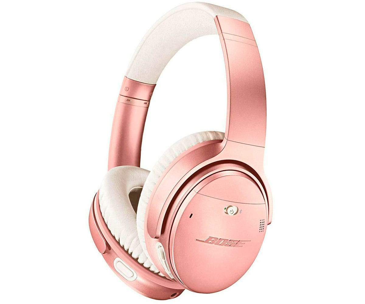BOSE QUIETCOMFORT 35 II ROSA AURICULARES INALÁMBRICOS ACOUSTIC NOISE CANCELLING ALTA CALIDAD