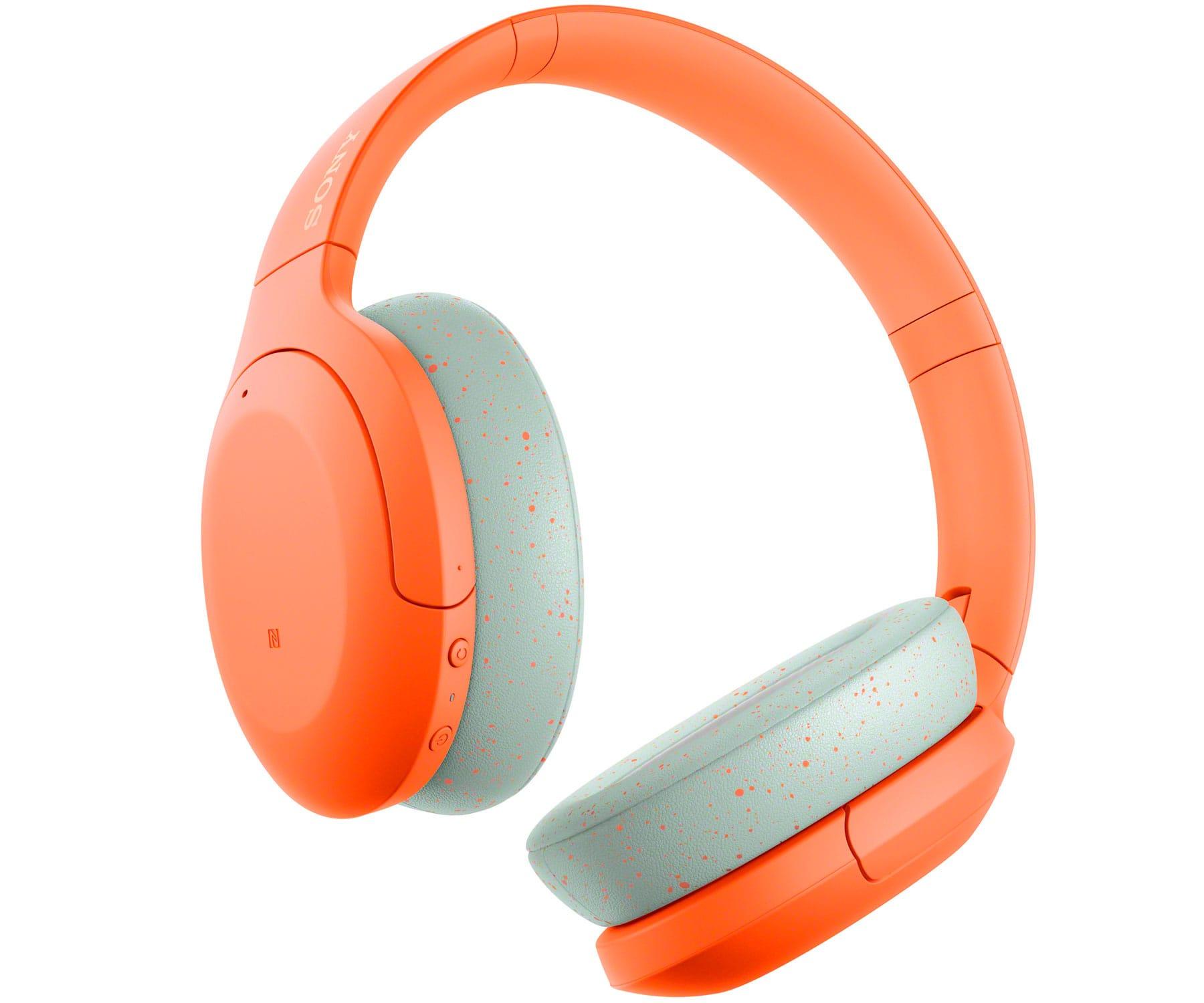 SONY WH-H910N NARANJA AURICULARES BLUETOOTH NFC NOISE CANCELLING AUDIO DE ALTA RESOLUCIÓN