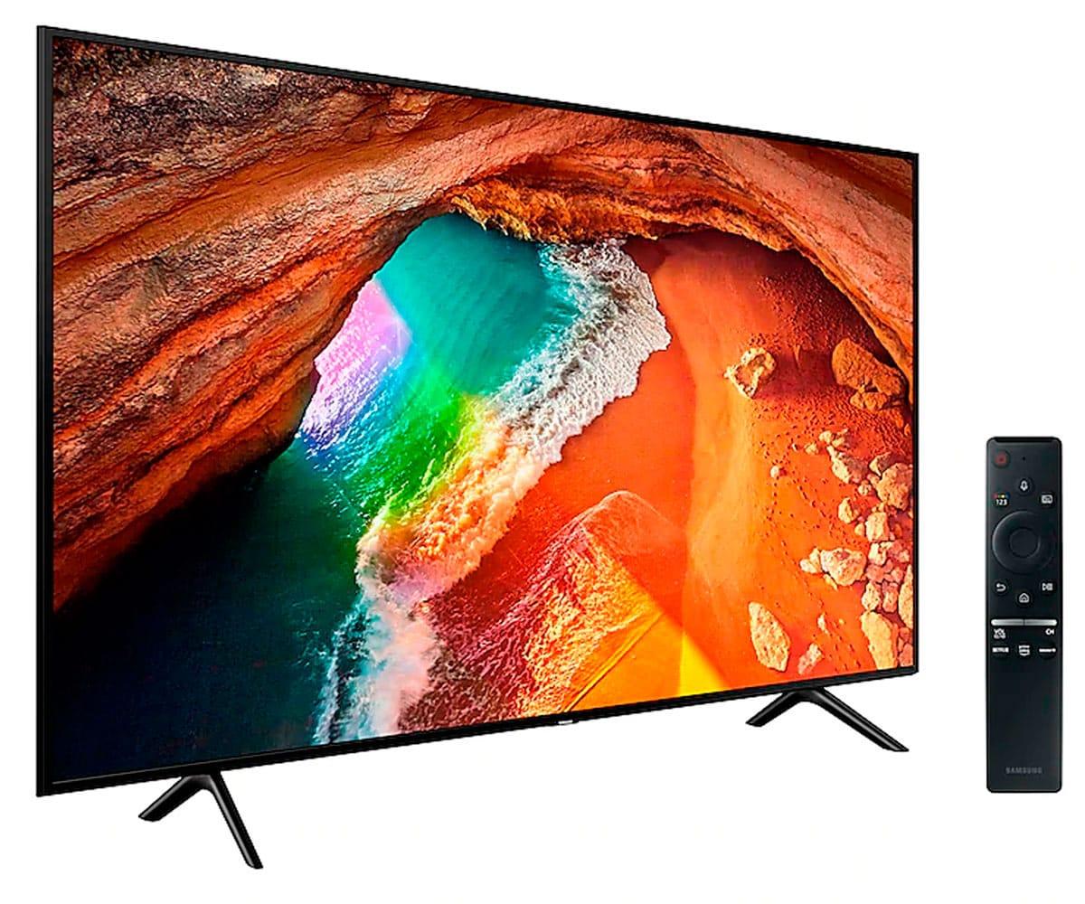 SAMSUNG QE55Q60RATXXC NEGRO TELEVISOR 55'' QLED 4K SMART TV WIFI BLUETOOTH AMBIENT MODE