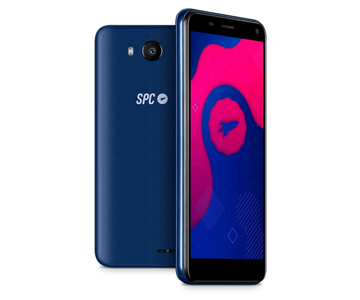 SPC SMART AZUL MÓVIL 3G DUAL SIM 5'' FWVGA/4CORE/16GB/2GB RAM/8MP/5MP