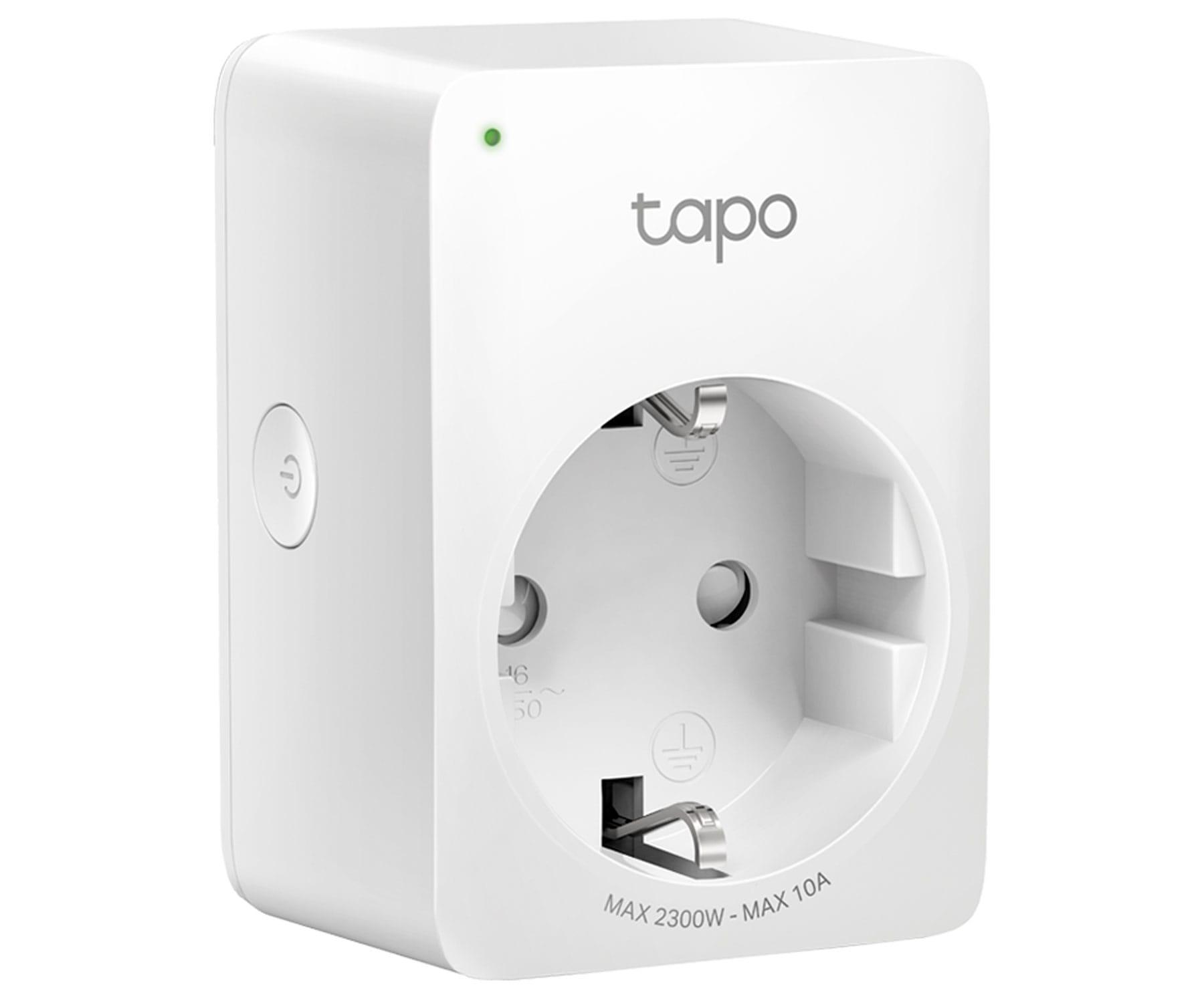 TP-LINK TAPO P100 ENCHUFE INTELIGENTE WIFI CONTROL REMOTO PROGRAMACIÓN TEMPORIZADOR