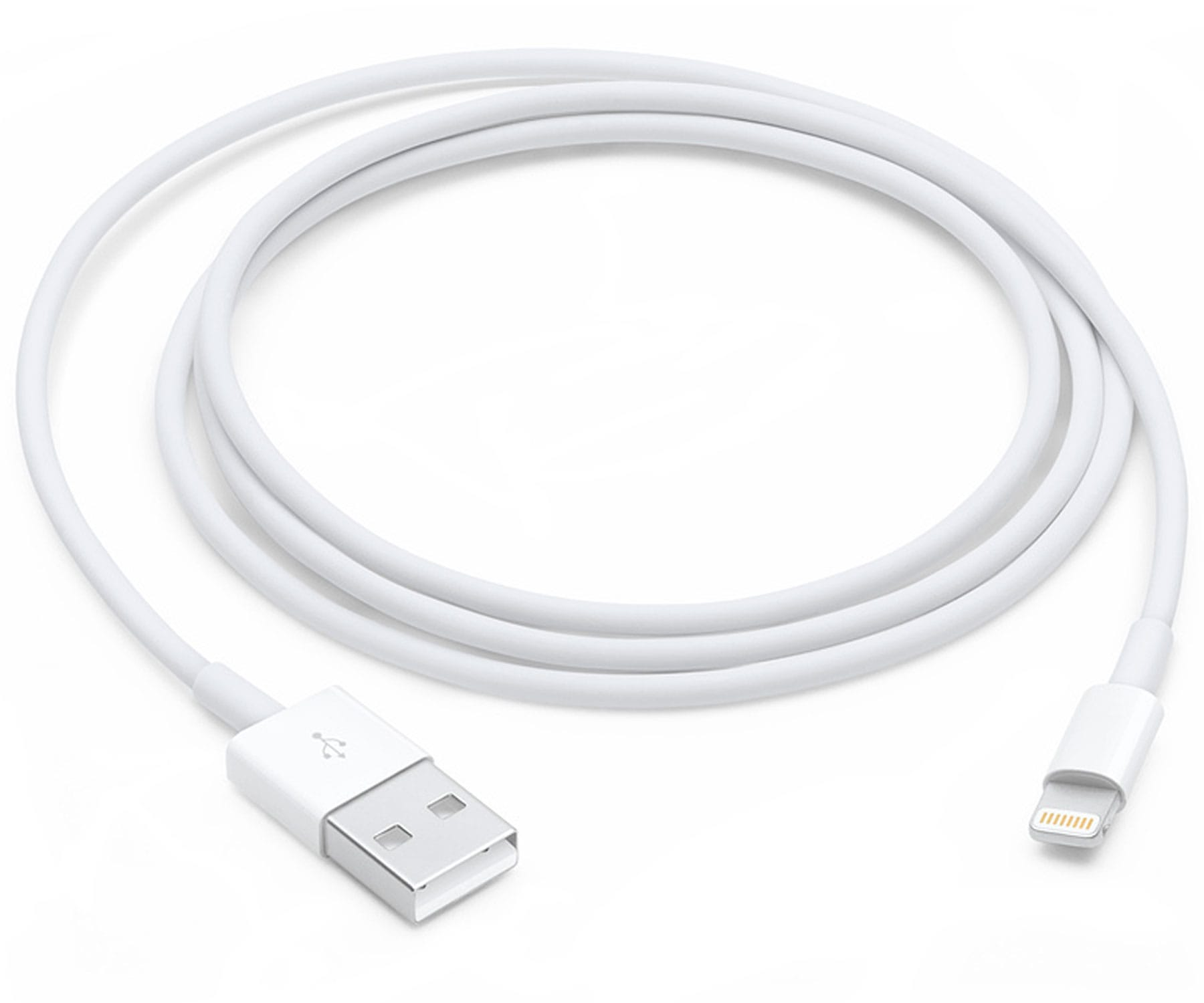 APPLE MXLY2ZM/A BLANCO CABLE USB A LIGHTNING 1 METRO