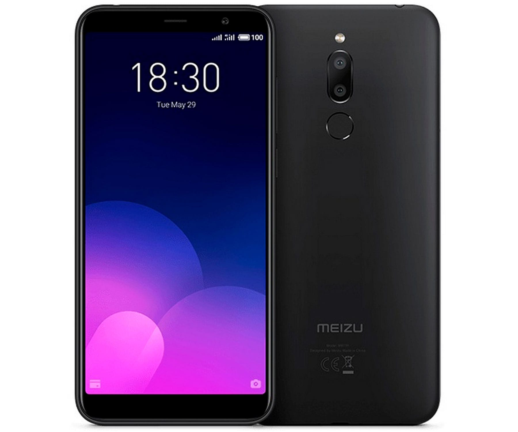 MEIZU M6T NEGRO MÓVIL 4G DUAL SIM 5.7'' IPS HD+ OCTACORE 16GB 2GB RAM DUALCAM 13MP SELFIES 8MP