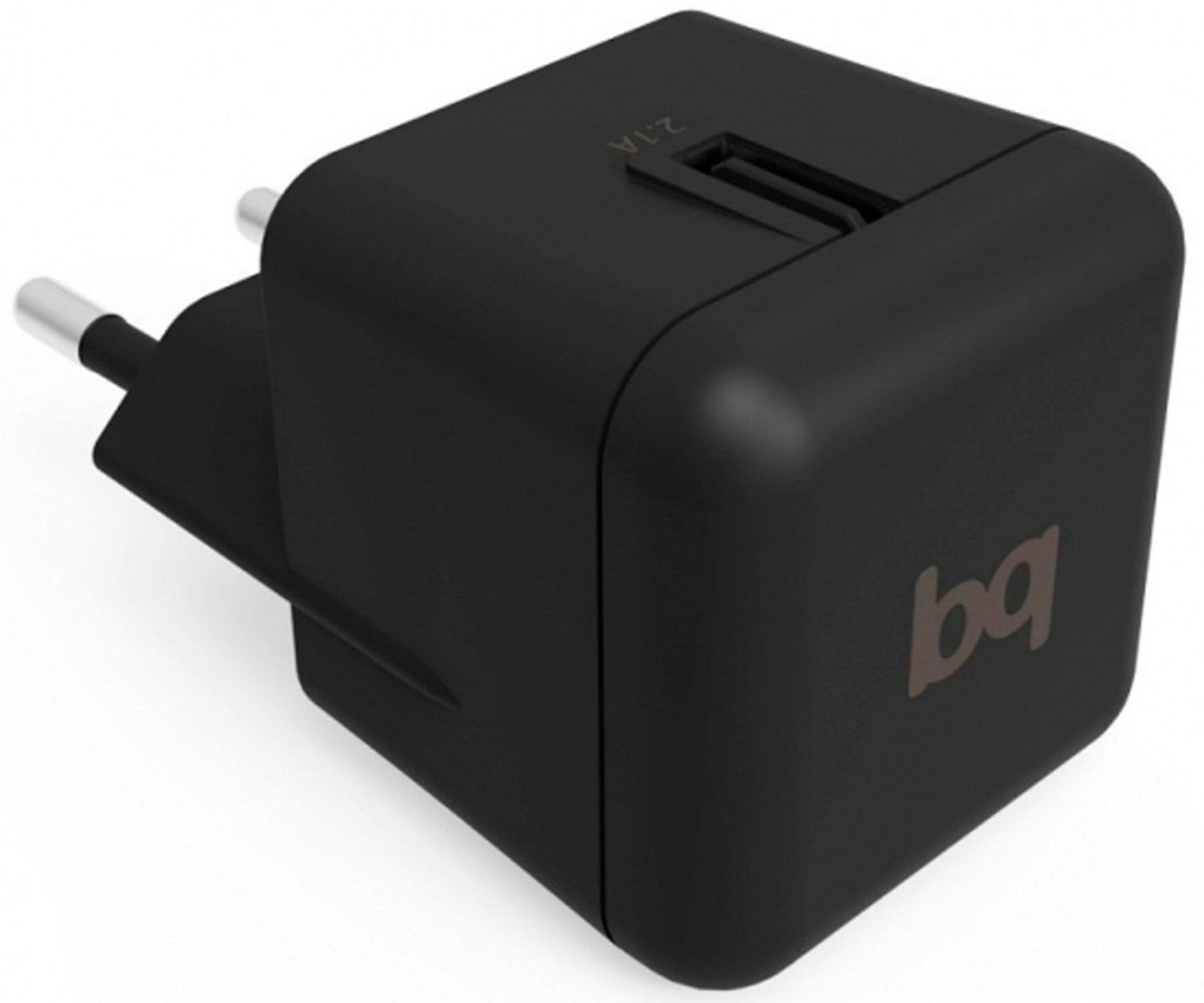 BQ E000786 NEGRO CARGADOR RED SALIDA 2.1A 5V USB
