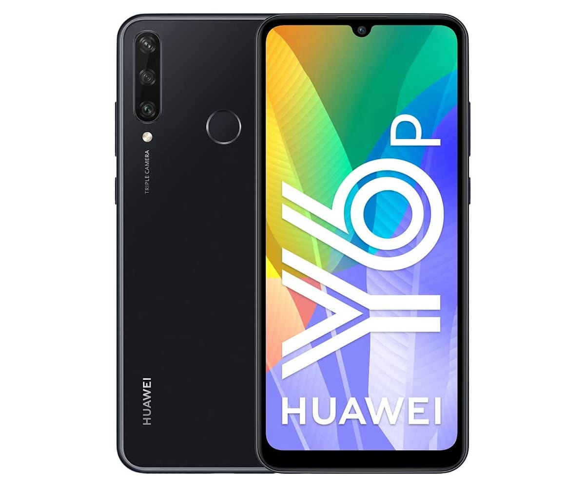 HUAWEI Y6P NEGRO MÓVIL 4G DUAL SIM 6.3'' IPS HD+ OCTACORE 64GB 3GB RAM TRICAM 13MP SELFIES 8MP