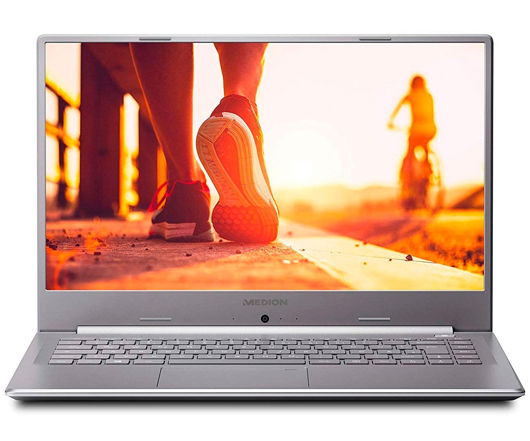 MEDION P6645 PLATA PORTÁTIL ULTRAFINO 15.6'' FullHD i5-8264U 3.9GHz 256GB-SSD 1TB-HDD 8GB RAM GFMX150-2GB WIN10 HOME