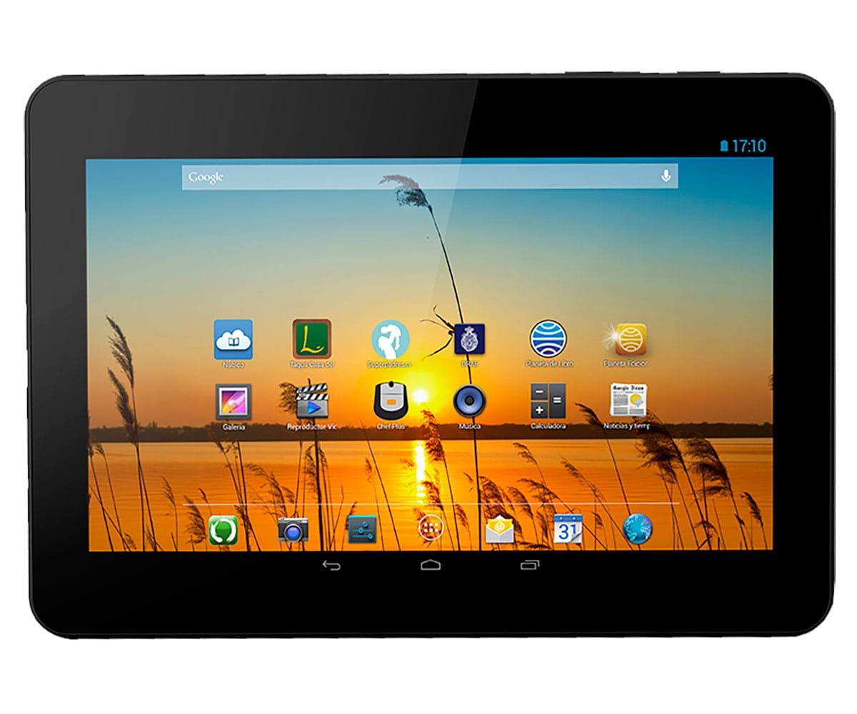 BQ LIVINGSTONE 3N NATURALEZA TABLET WIFI 10.1'' IPS HD/4CORE/16GB/1GB RAM/5MP/2MP