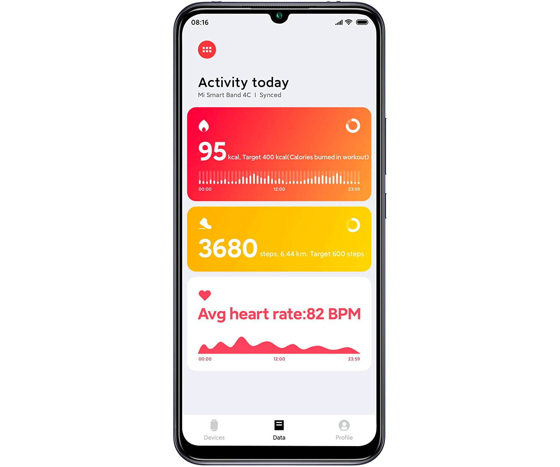 Xiaomi Mi Smart Band 4c Negro Pulsera De Monitorización Inteligente Frecuencia C... (4)