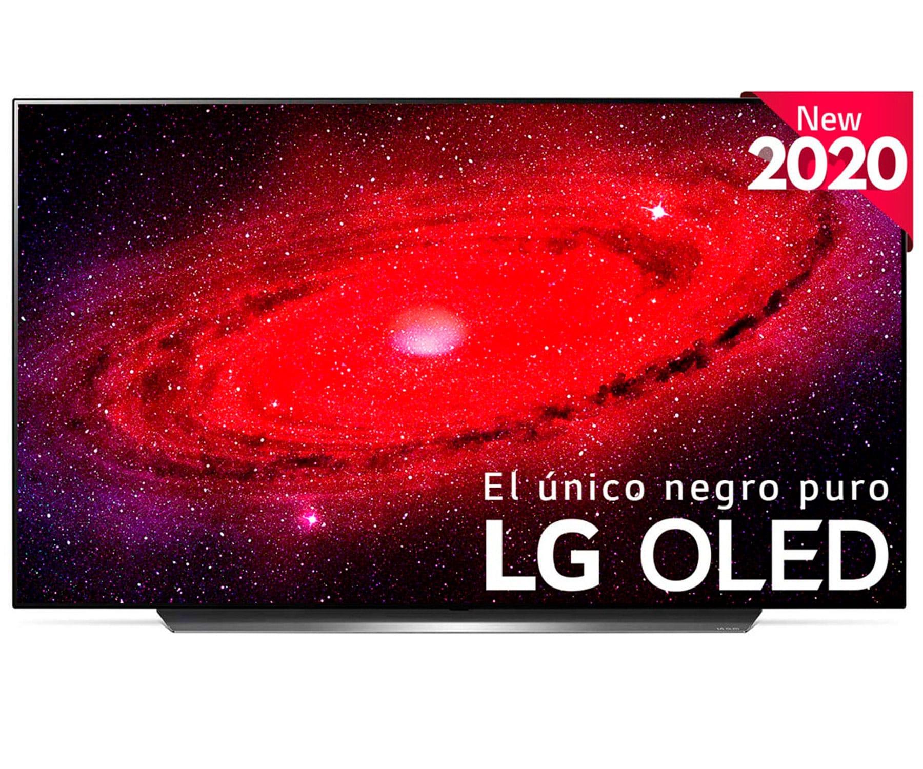 LG 55CX6LA TELEVISOR 55'' OLED UHD 4K HDR THINQ SMART TV IA WEBOS 5.0 WIFI BLUETOOTH SONIDO DOLBY ATMOS