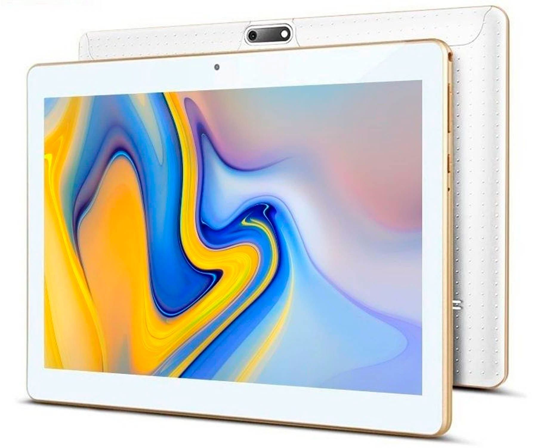 INNJOO SUPERB BLANCO TABLET 3G SIM 10.1'' IPS QUADCORE 32GB 2GB RAM CAM 2MP SELFIES 0.3MP