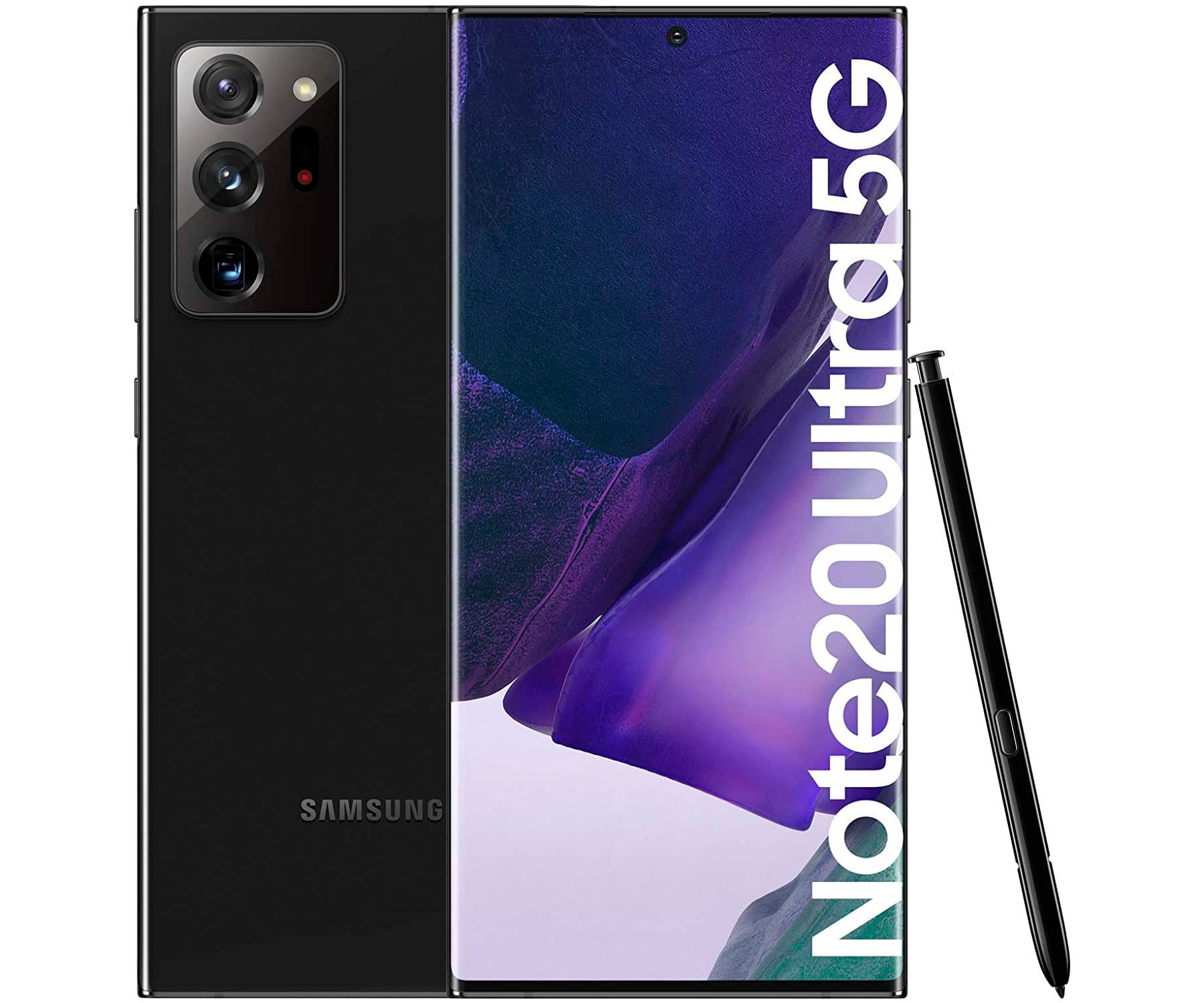 SAMSUNG GALAXY NOTE 20 ULTRA NEGRO MÓVIL DUAL SIM 5G 6.9'' SUPER AMOLED 120Hz 2K OCTACORE 256GB 12GB RAM TRICAM 108MP SELFIES 10MP
