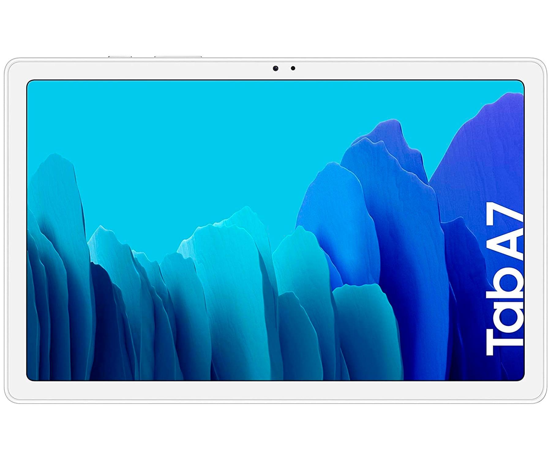 SAMSUNG GALAXY TAB A7 PLATA TABLET WIFI 10.4'' WUXGA+ OCTACORE 32GB 3GB RAM CAM 8MP SELFIES 5MP