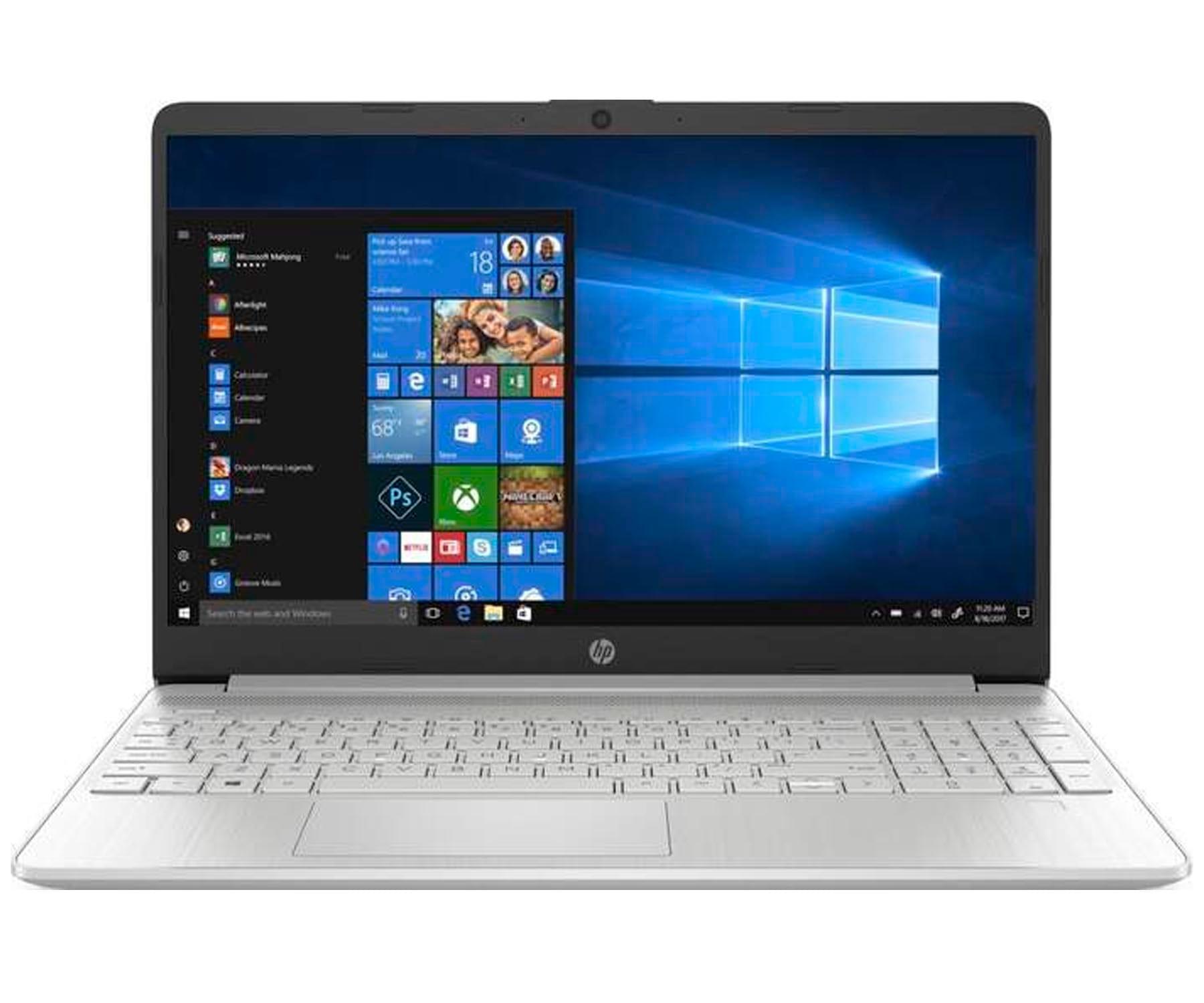HP LAPTOP 15s-FQ1141 PLATA PORTÁTIL 15.6'' HD INTEL i3-1005G1 512GB SSD 8GB RAM WINDOWS 10 HOME