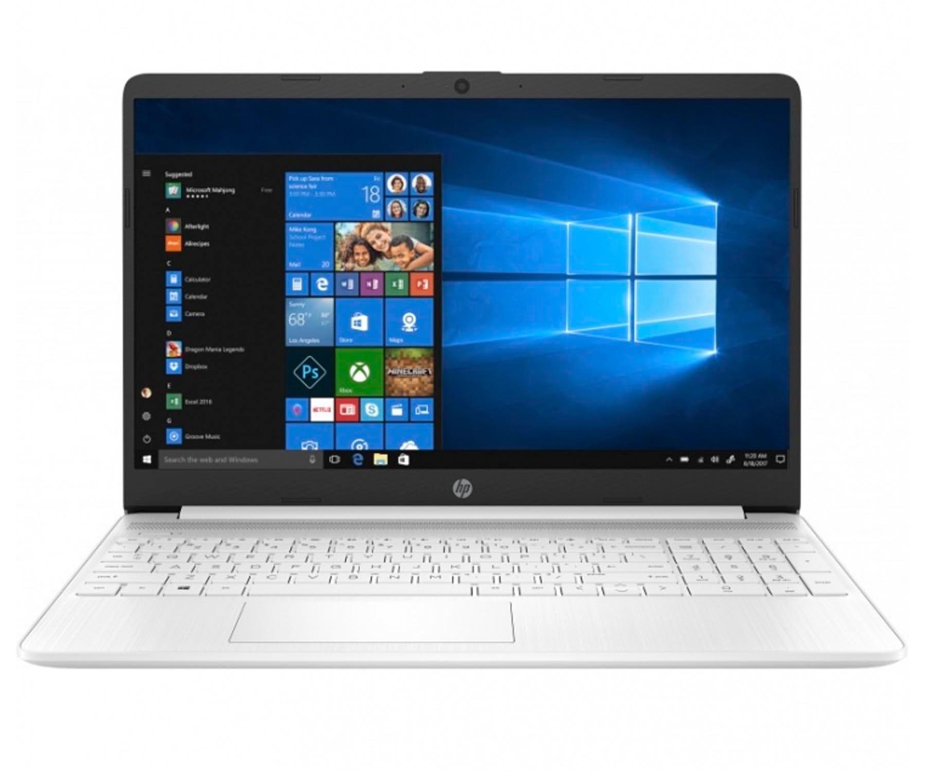 HP LAPTOP 15s-FQ1031 BLANCO PORTÁTIL 15.6'' HD i5-1035G1 1TB SSD 8GB RAM WINDOWS 10 HOME