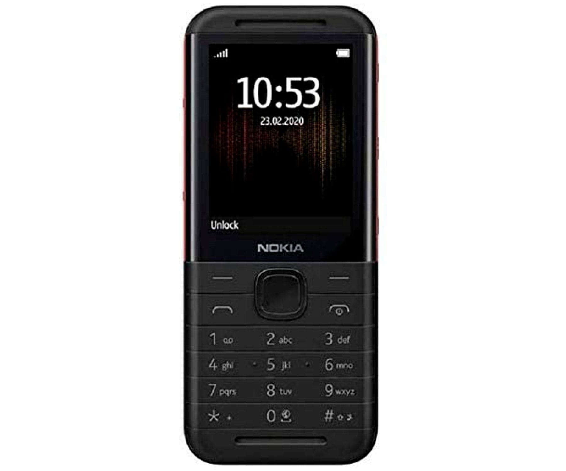 NOKIA 5310 NEGRO/ROJO MÓVIL GSM DUAL SIM 2.4'' QVGA 16MB HASTA 32GB CON SD CÁMARA VGA CON FLASH BLUETOOTH 3.0 FM