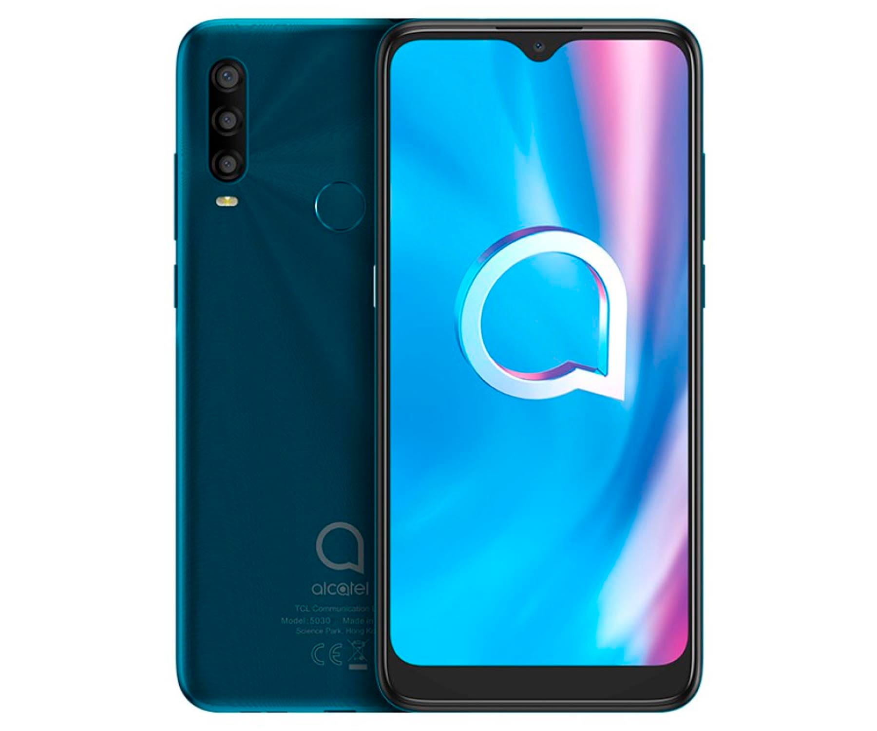 ALCATEL 1SE 5030F VERDE MÓVIL 4G DUAL SIM 6.22'' IPS HD+ OCTACORE 64GB 4GB RAM TRICAM 13MP SELFIES 5MP