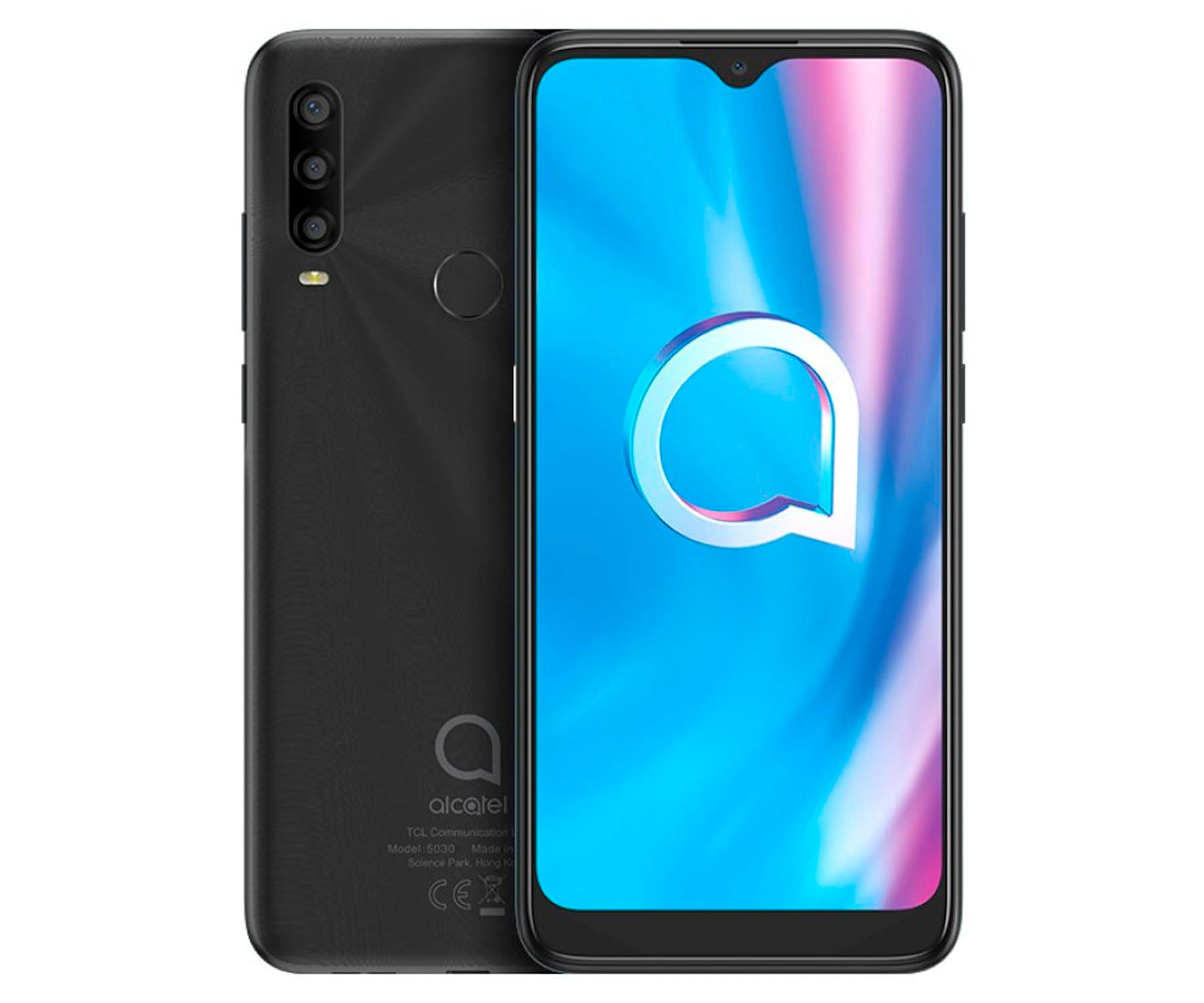 ALCATEL 1SE 5030F GRIS MÓVIL 4G DUAL SIM 6.22'' IPS HD+ OCTACORE 64GB 4GB RAM TRICAM 13MP SELFIES 5MP