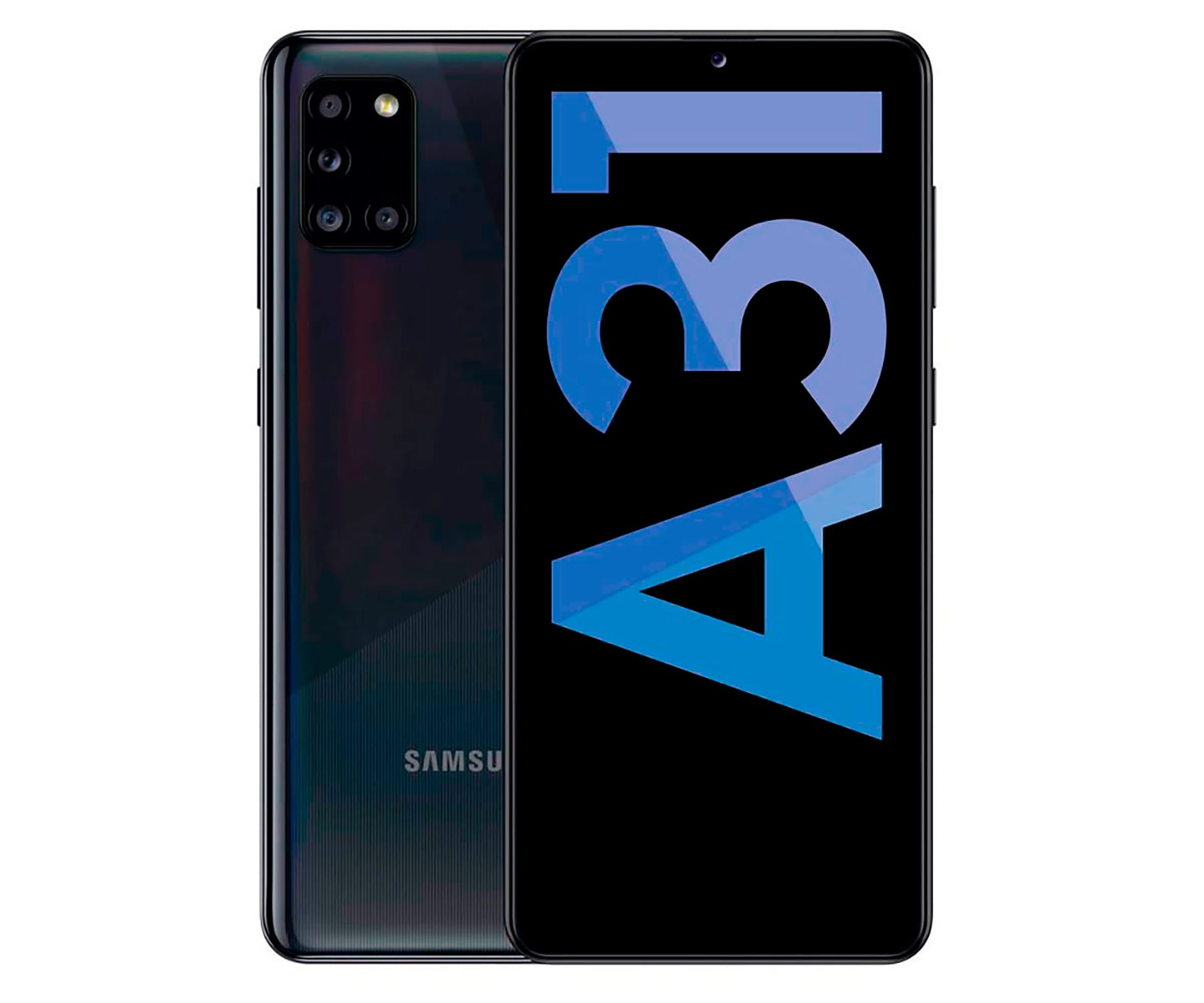 SAMSUNG A31 NEGRO MÓVIL 4G DUAL SIM 6.4'' Super AMOLED FHD+ OCTACORE 128GB 4GB RAM QUADCAM 48MP SELFIES 20MP