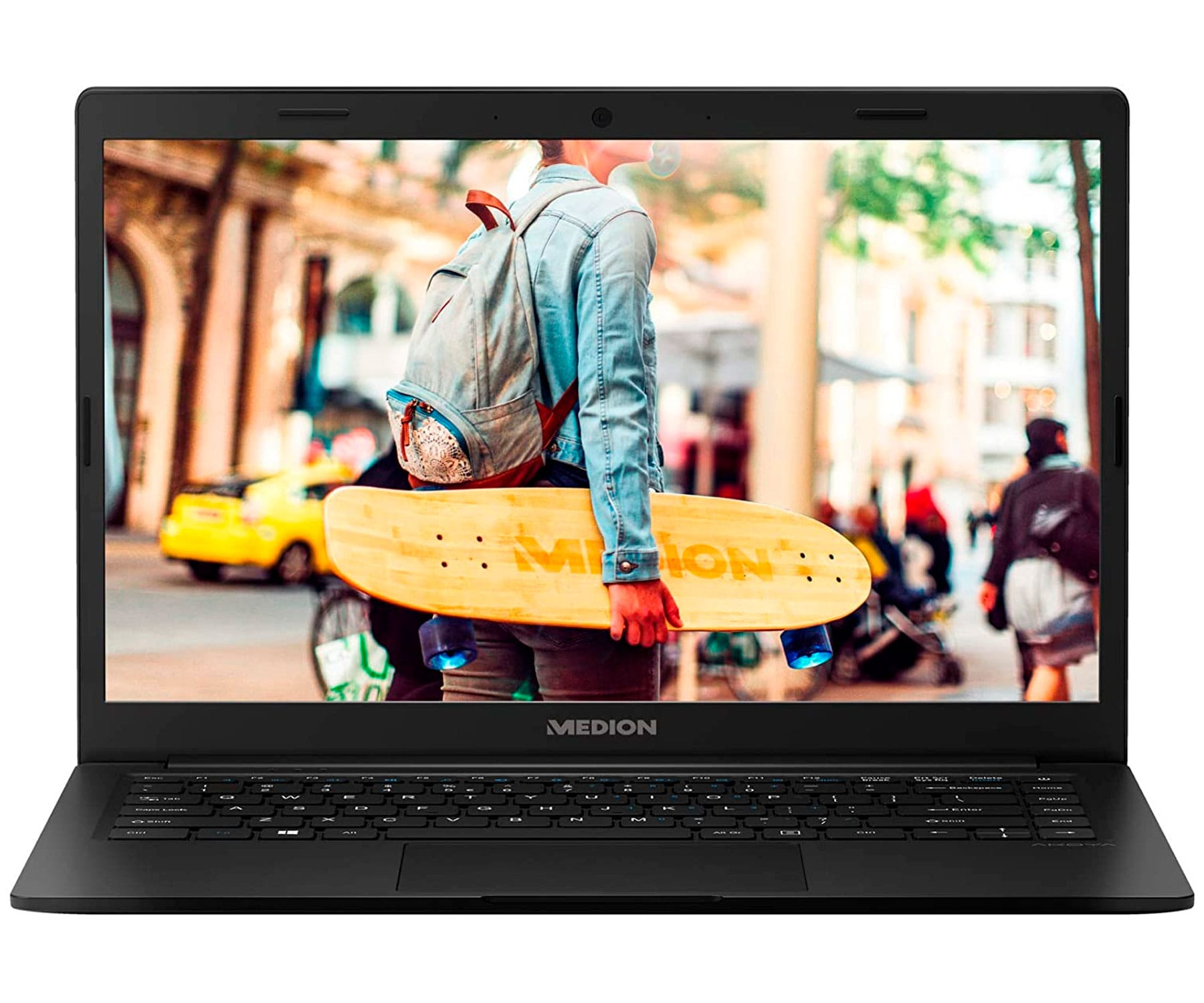 MEDION E4251 MD62003 NEGRO PORTÁTIL 14'' FullHD CEL-N4020 64GB eMMC 4GB RAM WINDOWS 10 HOME