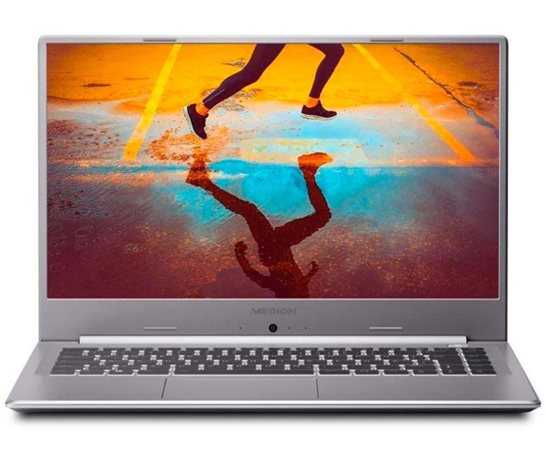 MEDION AKOYA S15447 PLATA PORTÁTIL 15.6'' FullHD i5-10210U 4.2GHz 256GB SSD 8GB RAM FREEDOS