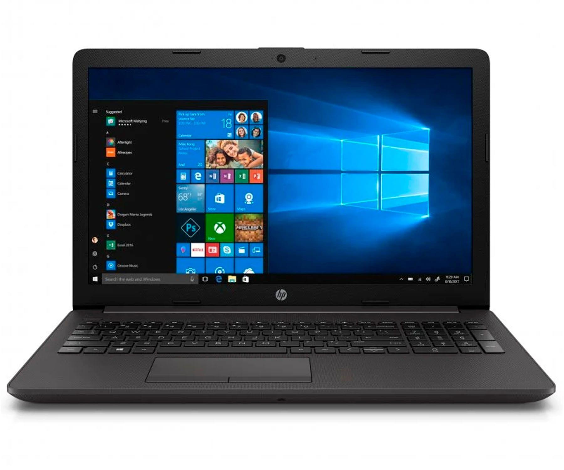 HP 250 G7 PORTÁTIL NEGRO 15.6'' LED FullHD i5-1035G1 512GB SSD 16GB RAM GF-MX110-2GB WINDOWS 10 HOME