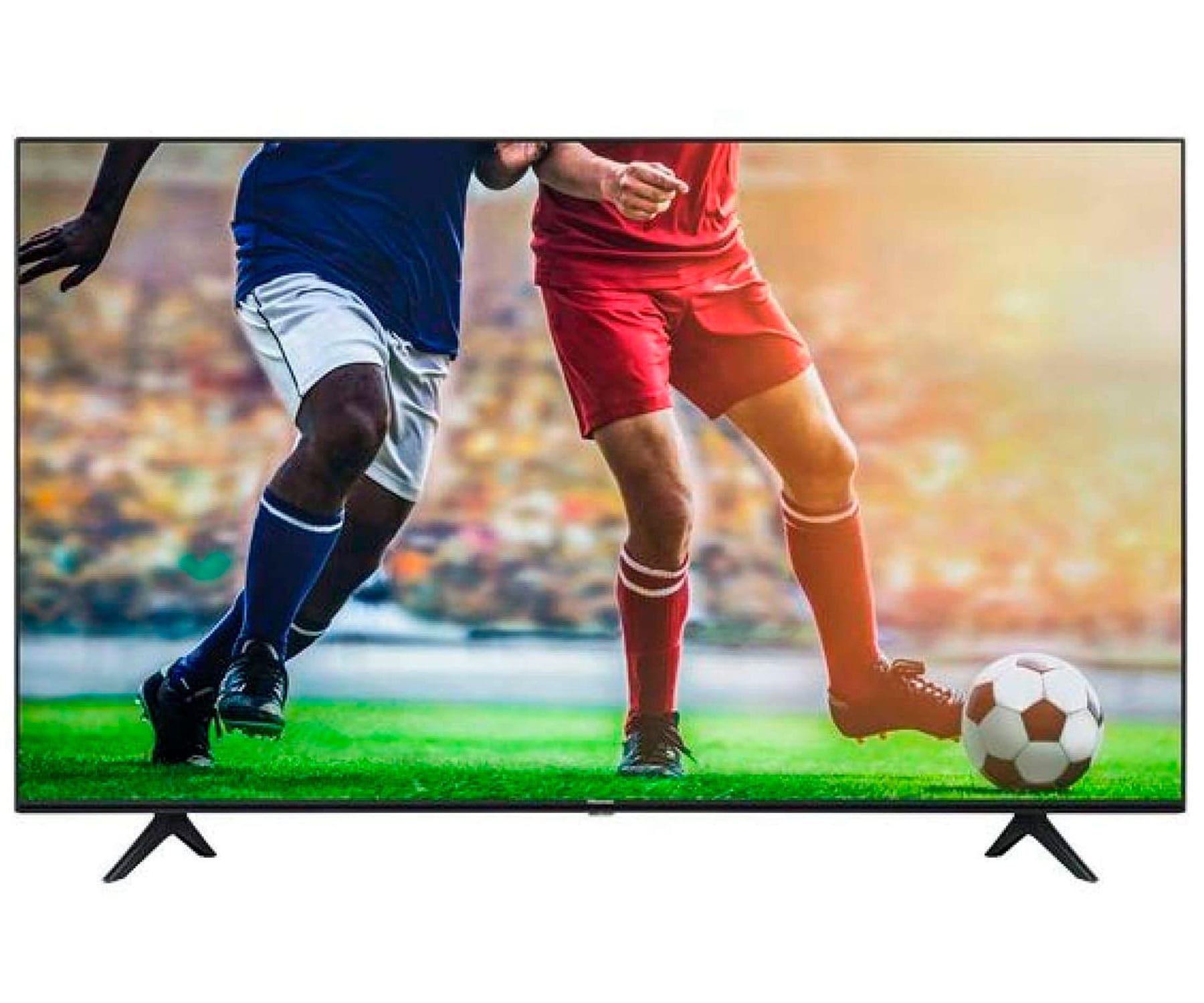 HISENSE H55A7100F TELEVISOR 55'' SMART TV LED 4K UHD HDR 1600PCI CI+ HDMI USB  BLUETOOTH