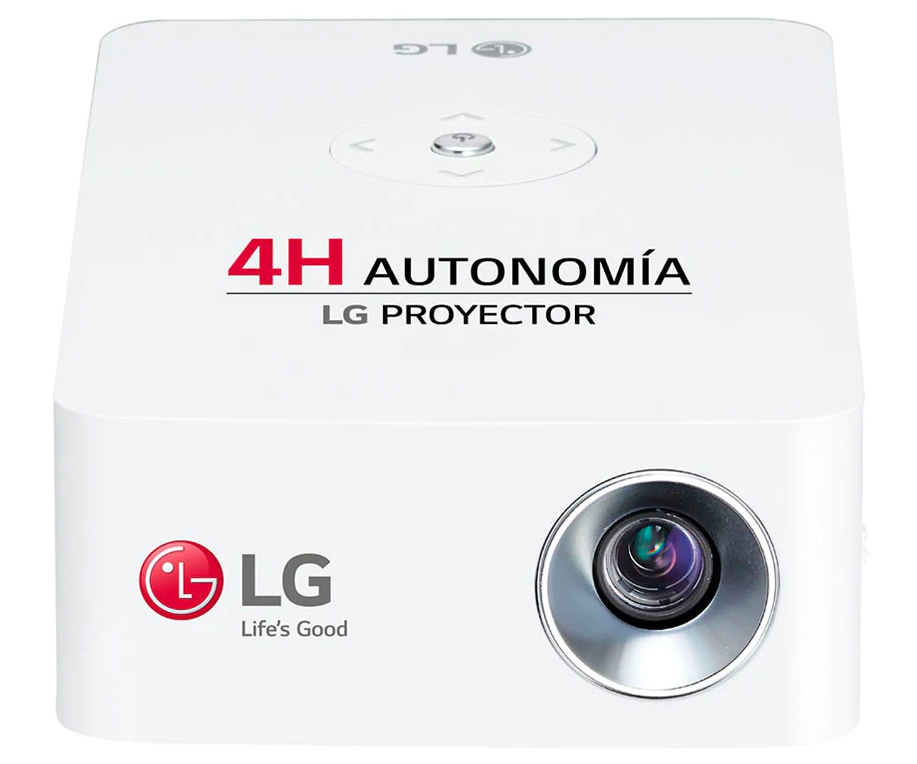LG PH30JG PROYECTOR PORTÁTIL CINEBEAM 250 LÚMENES HASTA 100'' CON BATERÍA DE HASTA 4H AUTONOMÍA