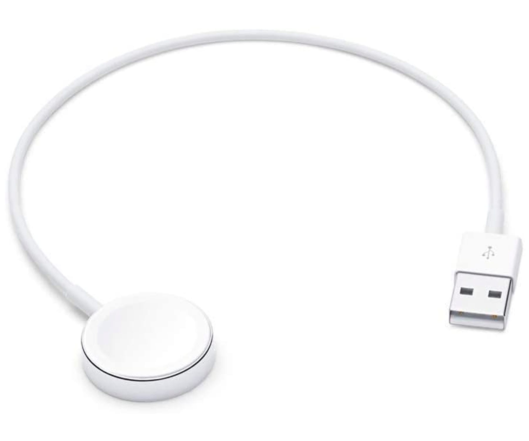 APPLE BASE DE CARGA MAGNÉTICA BLANCO PARA APPLE WATCH USB 0.3M