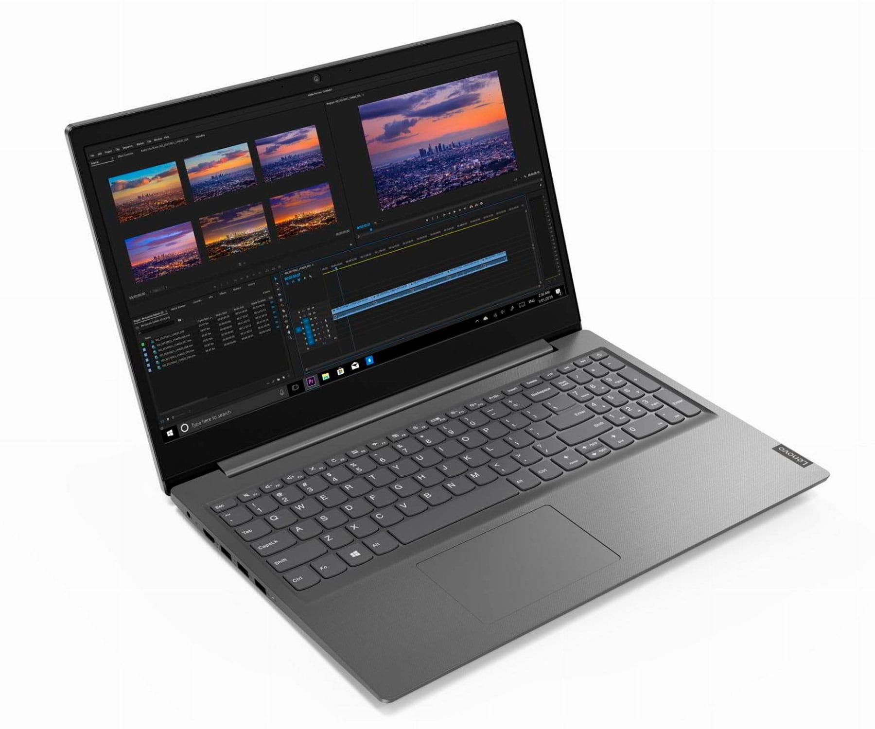 LENOVO V15-IIL GRIS PORTÁTIL 15.6'' LED HD i5-1035G1 256GB SSD 8GB RAM FREEDOS