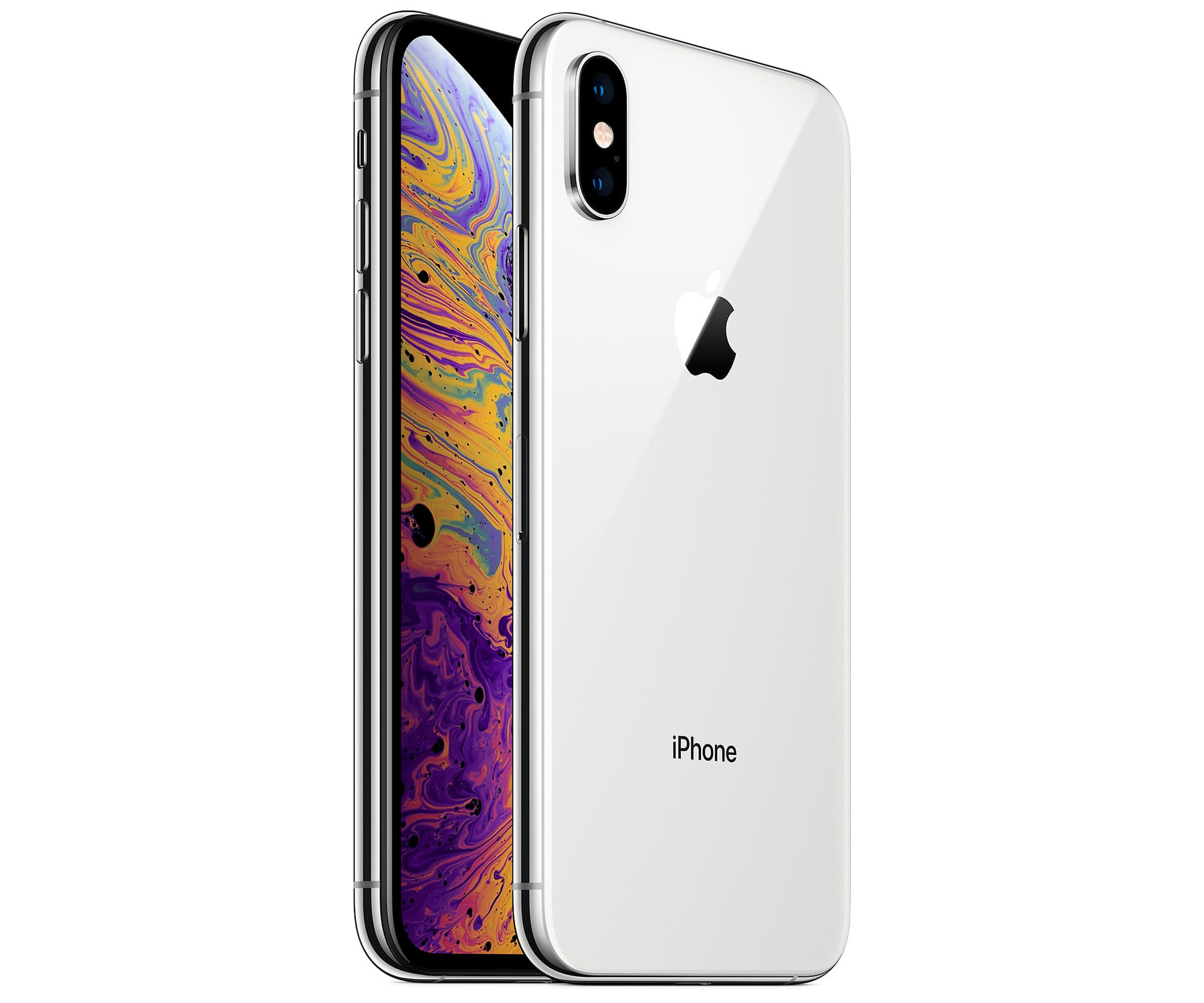 APPLE IPHONE XS 64GB SILVER REACONDICIONADO CPO MÓVIL 4G 5.8'' SUPER RETINA HD OLED HDR/6CORE/64GB/4GB RAM/12MP+12MP/7MP