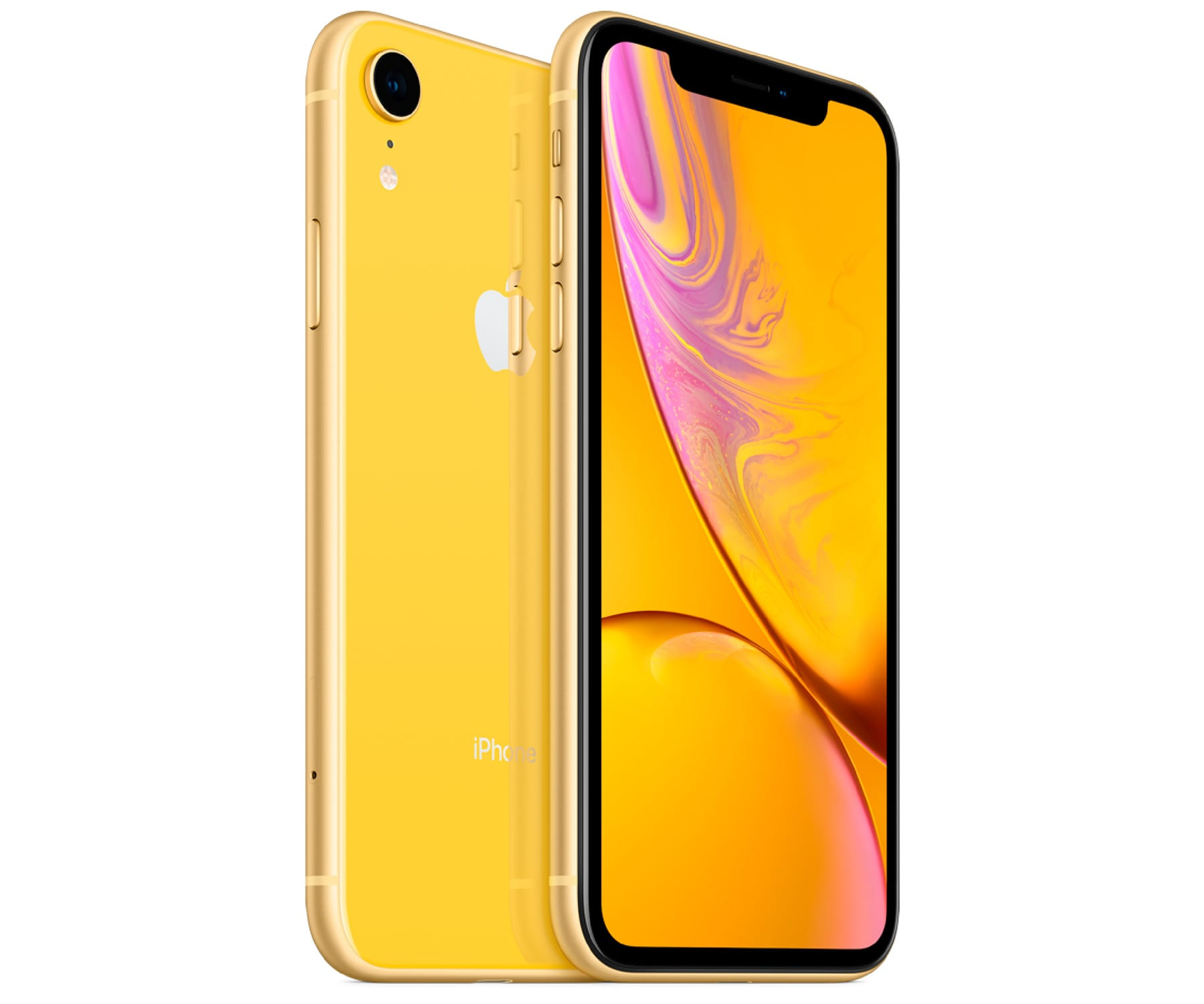 APPLE IPHONE XR 128GB AMARILLO REACONDICIONADO CPO MÓVIL 4G 6.1'' LIQUID RETINA HD LED HDR/6CORE/128GB/3GB RAM/12MP/7MP