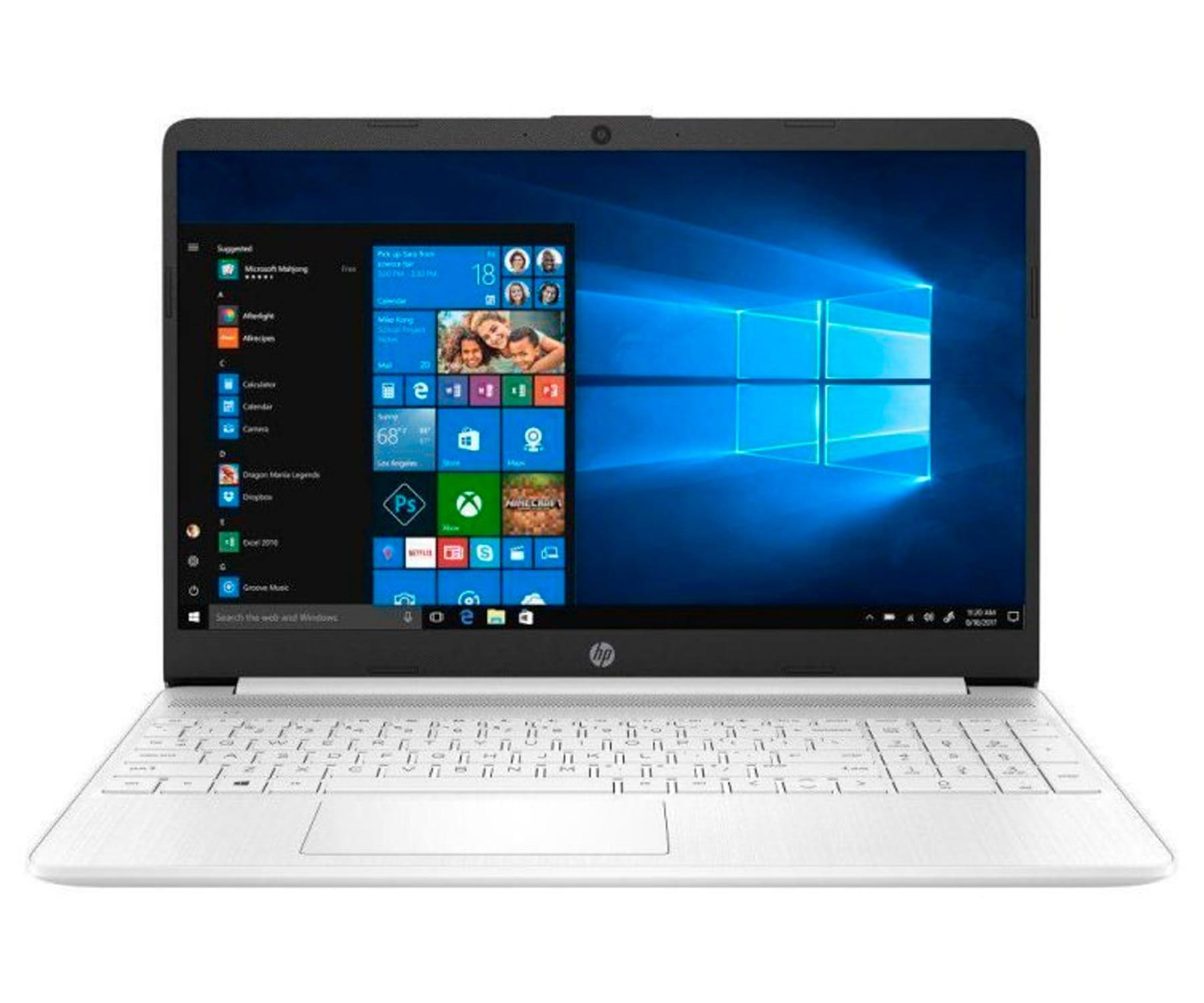 HP 15s-FQ1038 BLANCO PORTÁTIL 15.6'' HD i5-1035G1 256GB SSD 8GB RAM WINDOWS 10 HOME