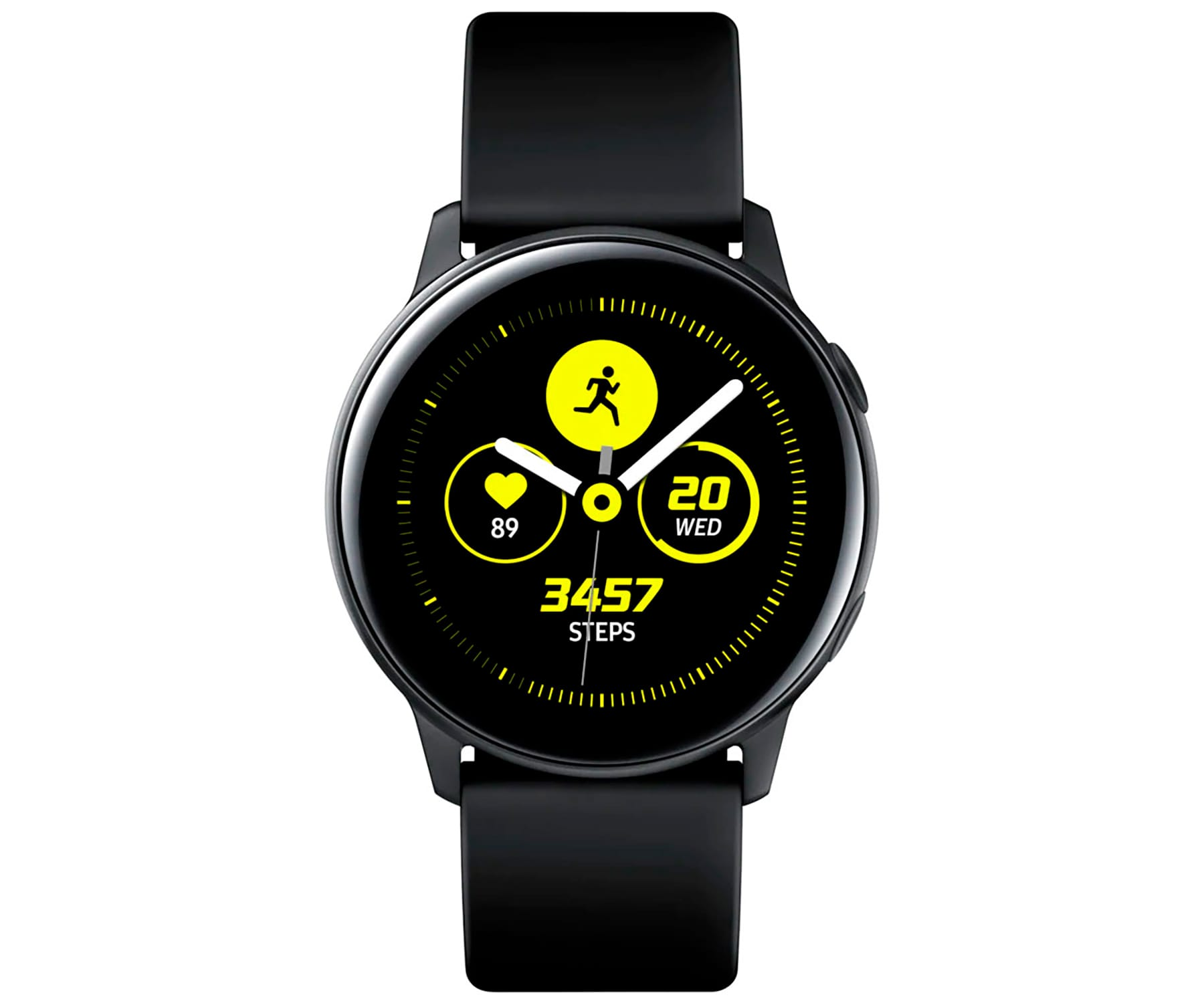 SAMSUNG GALAXY WATCH ACTIVE NEGRO SMARTWATCH 1.1'' AMOLED GPS BT