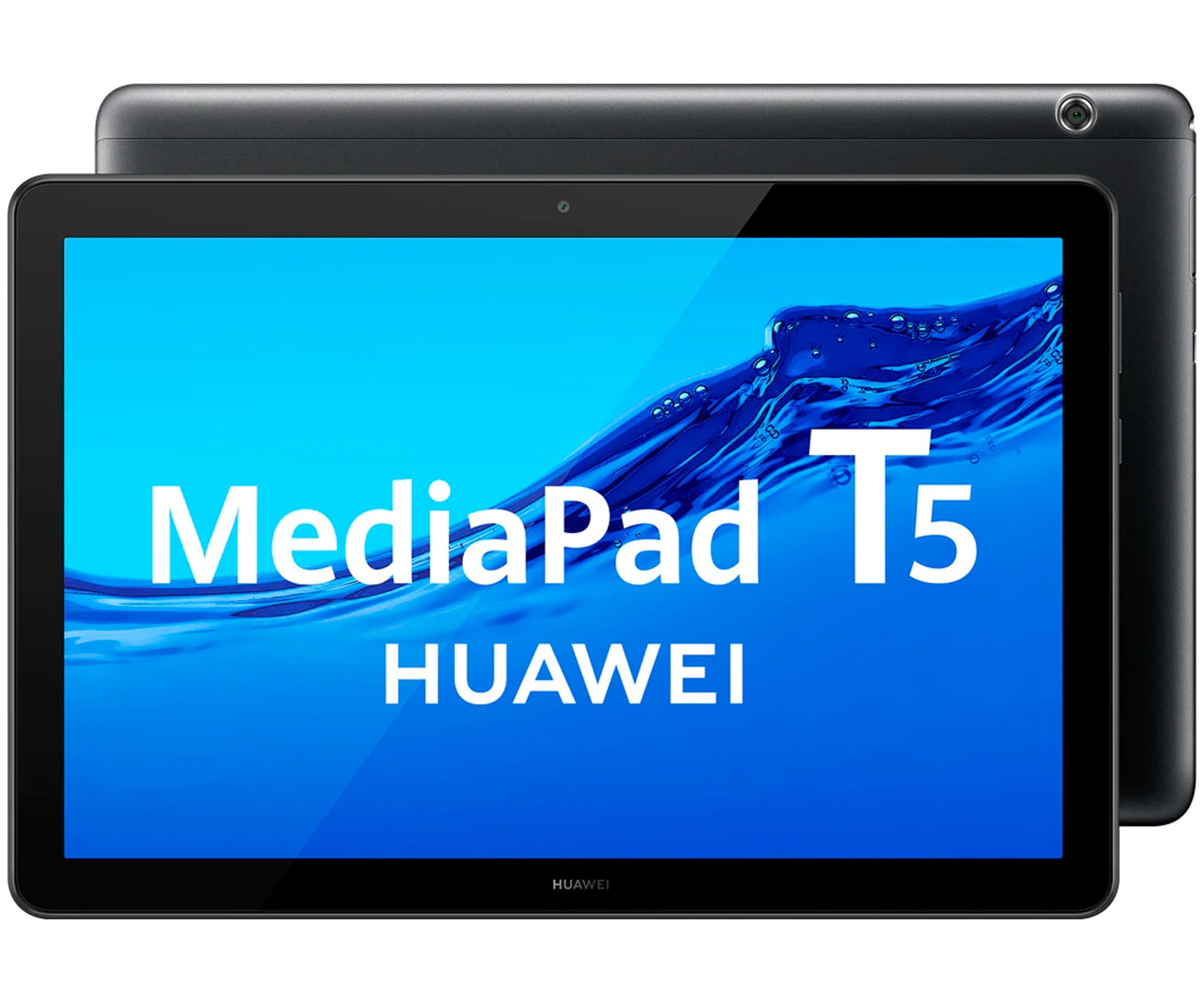 HUAWEI MEDIAPAD T5 NEGRO TABLET WIFI 10.1'' IPS FULLHD OCTACORE 32GB 2GB RAM CAM 5MP SELFIES 2MP