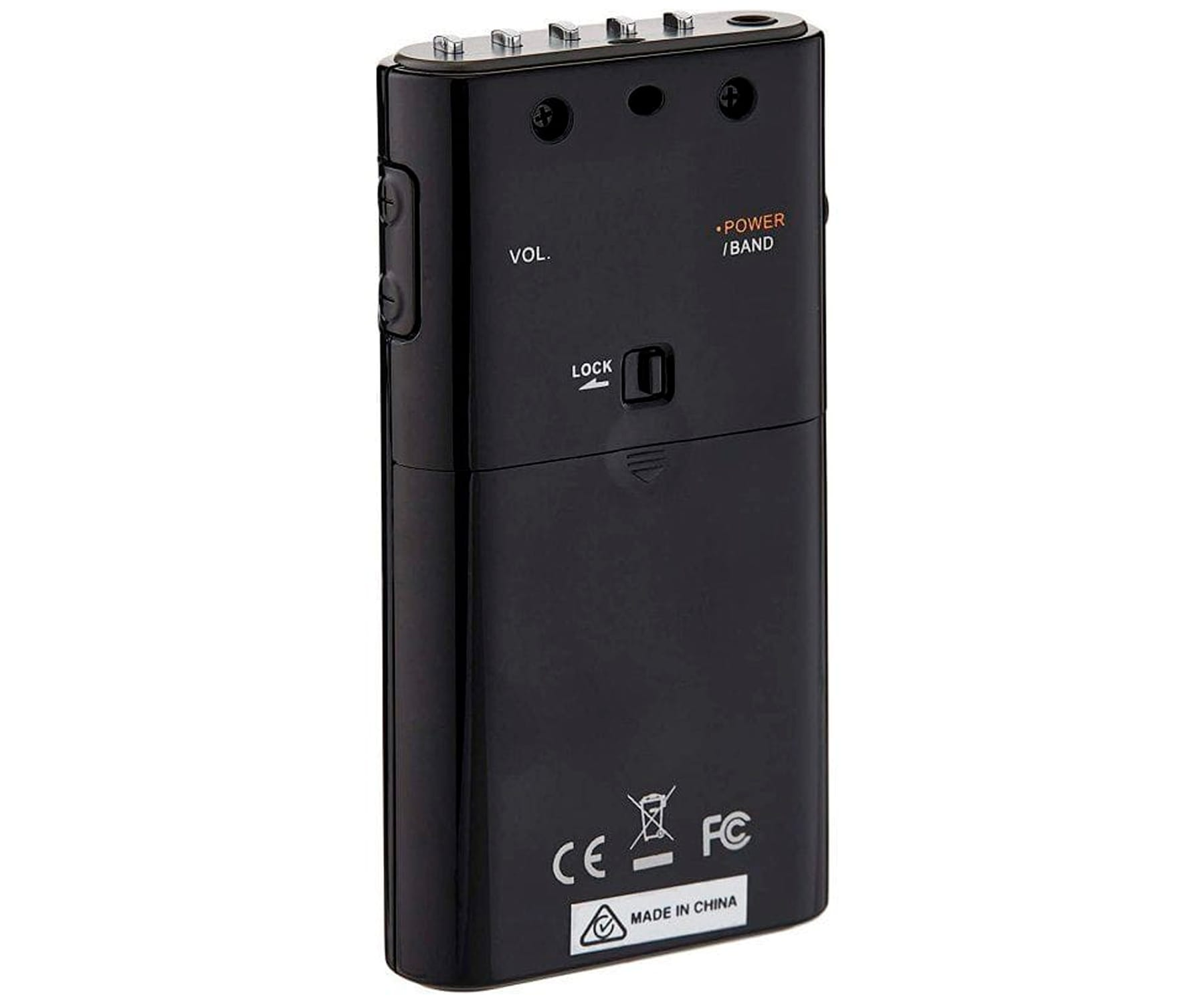 SANGEAN MPR-100 BLACK RADIO DIGITAL  DE BOLSILLO AM/FM 15 PRESINTONIAS