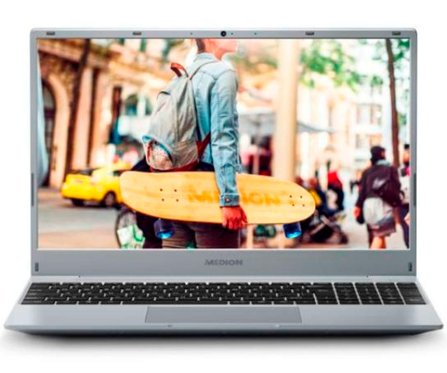MEDION AKOYA E15301-MD62018 AMD RYZEN 3 3200U/8GB/256GB SSD/15.6'' FullHD/PLATA/FREEDOS
