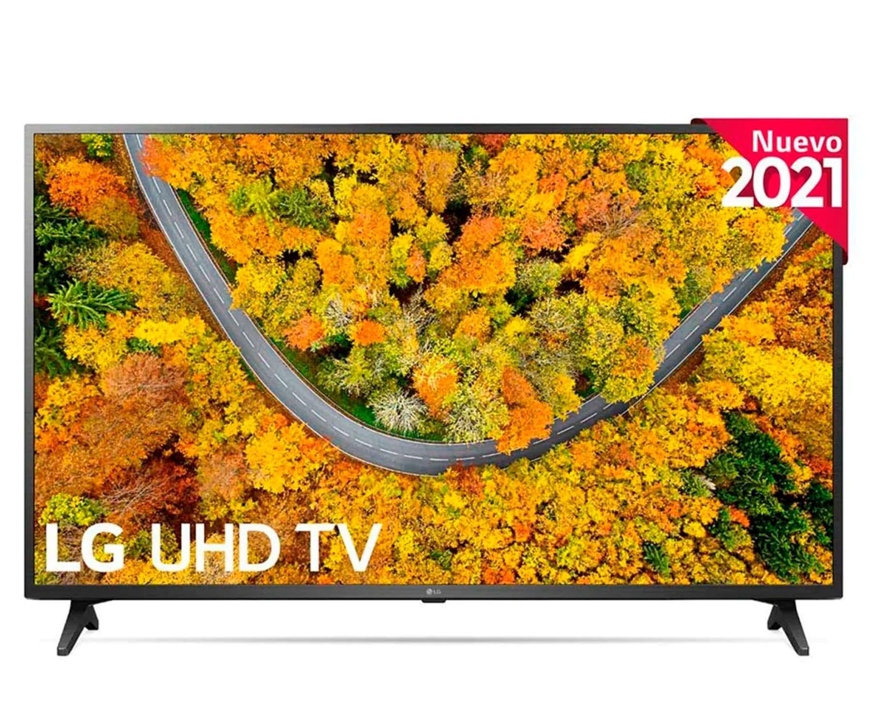 LG 55UP75006LF TELEVISOR 55'' LED UHD 4K SMART TV WEBOS 6.0 4K QUAD CORE WIFI HDMI BLUETOOTH