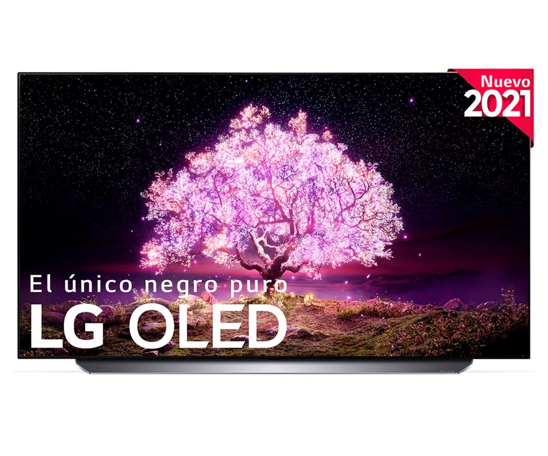 LG 65C14LB TELEVISOR 65'' OLED UHD 4K HDR IA THINQ SMART TV  WEBOS 6.0 WIFI BLUETOOTH SONIDO DOLBY ATMOS