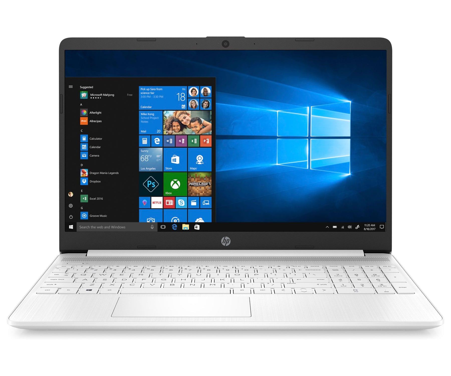 HP LAPTOP 15s-EQ1000NS BLANCO PORTÁTIL 15.6'' AMD ATHLON SILVER 3050U 256GB SSD 8GB RAM WINDOWS 10 HOME