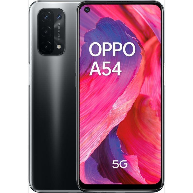 """OPPO A54 COLOR NEGRO 5G DUAL SIM 6.5"""" FHD+ QUALCOMM® 5G SOC 4GB 64GB"""