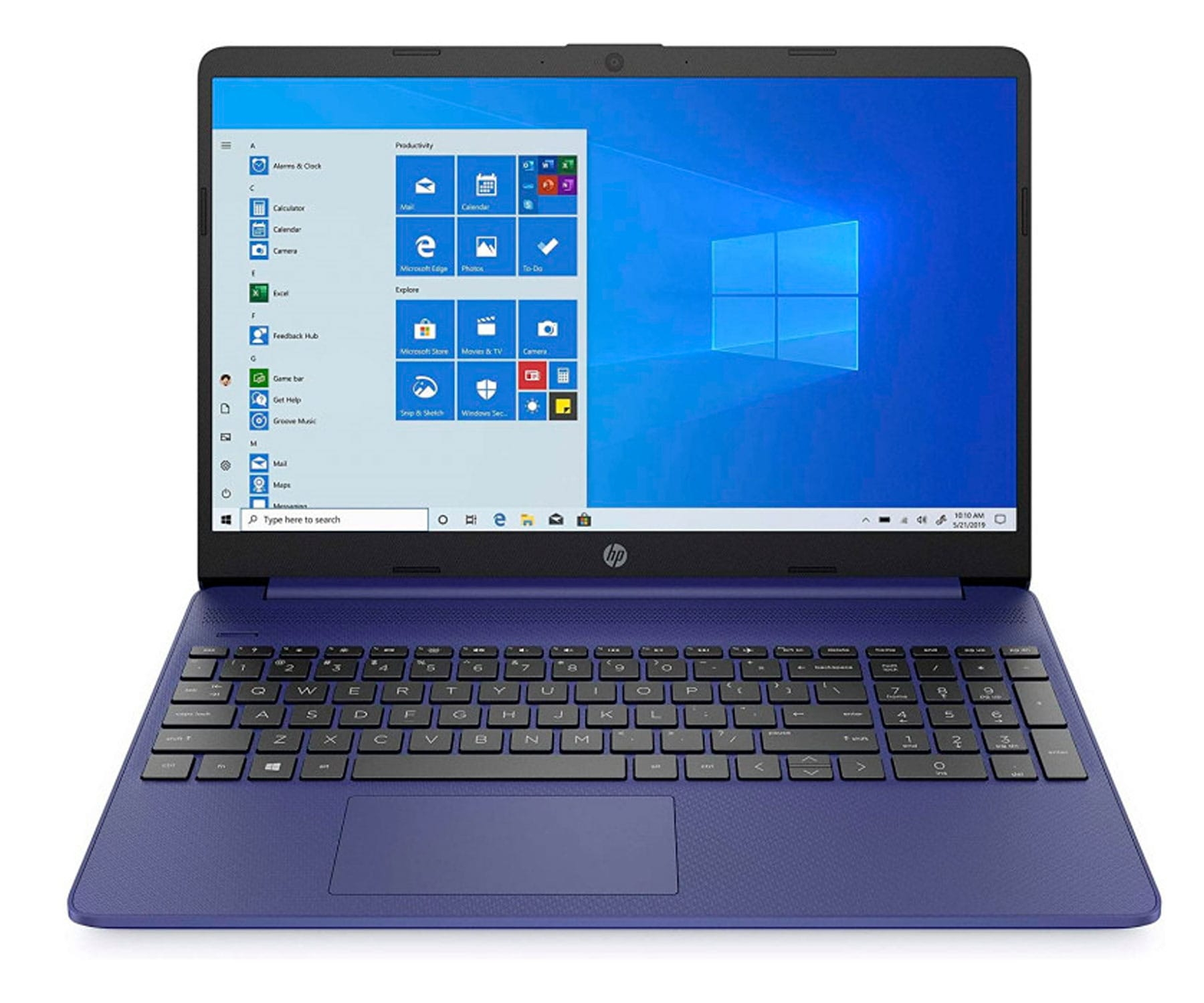 HP LAPTOP 15s-EQ1005NS AZUL INDIGO PORTÁTIL 15.6'' AMD ATHLON SILVER 3050U 512GB SSD 8GB RAM WINDOWS 10 HOME