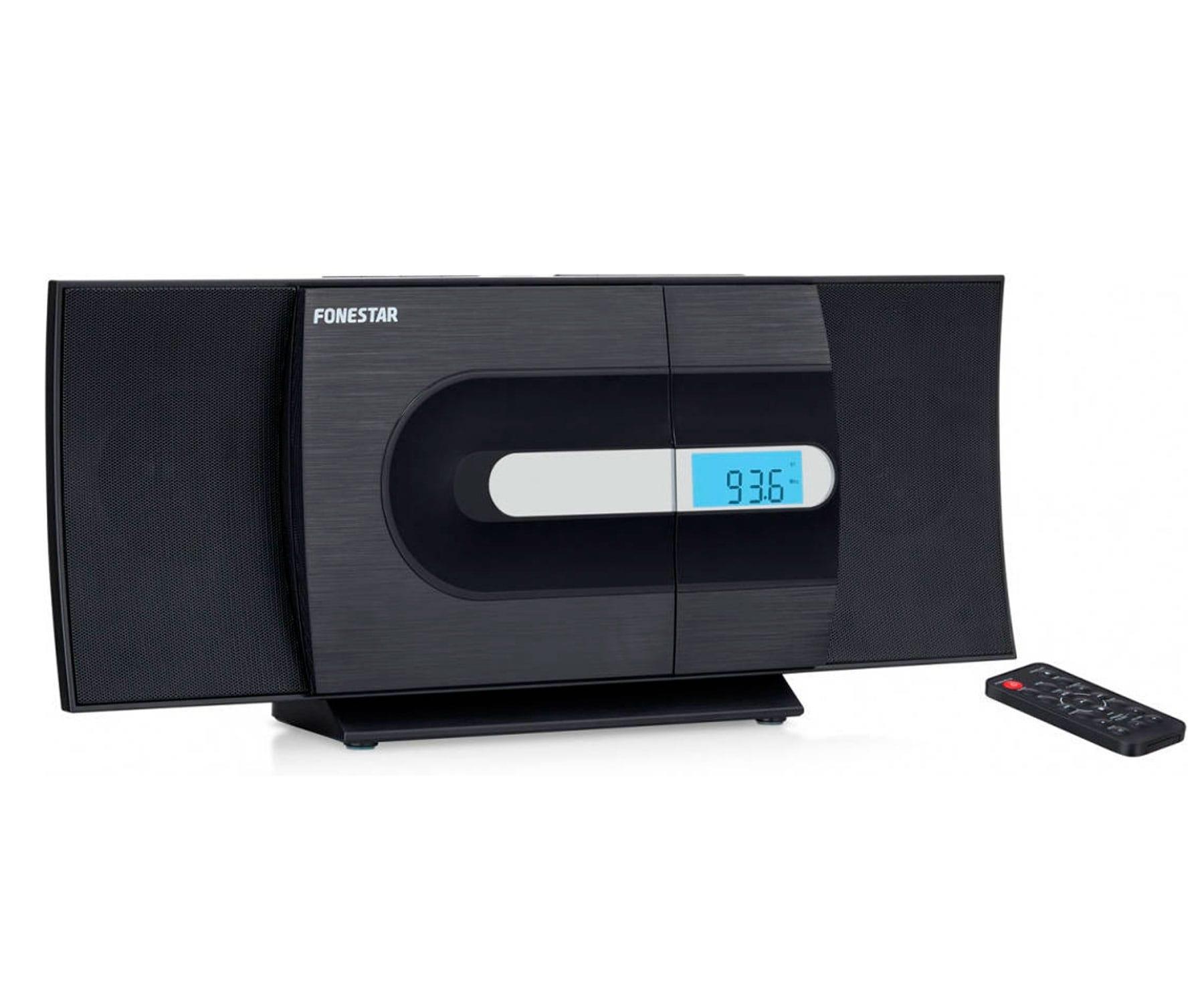Fonestar CURVE Microcadena Hi-FI/CD/USB/MP3/FM