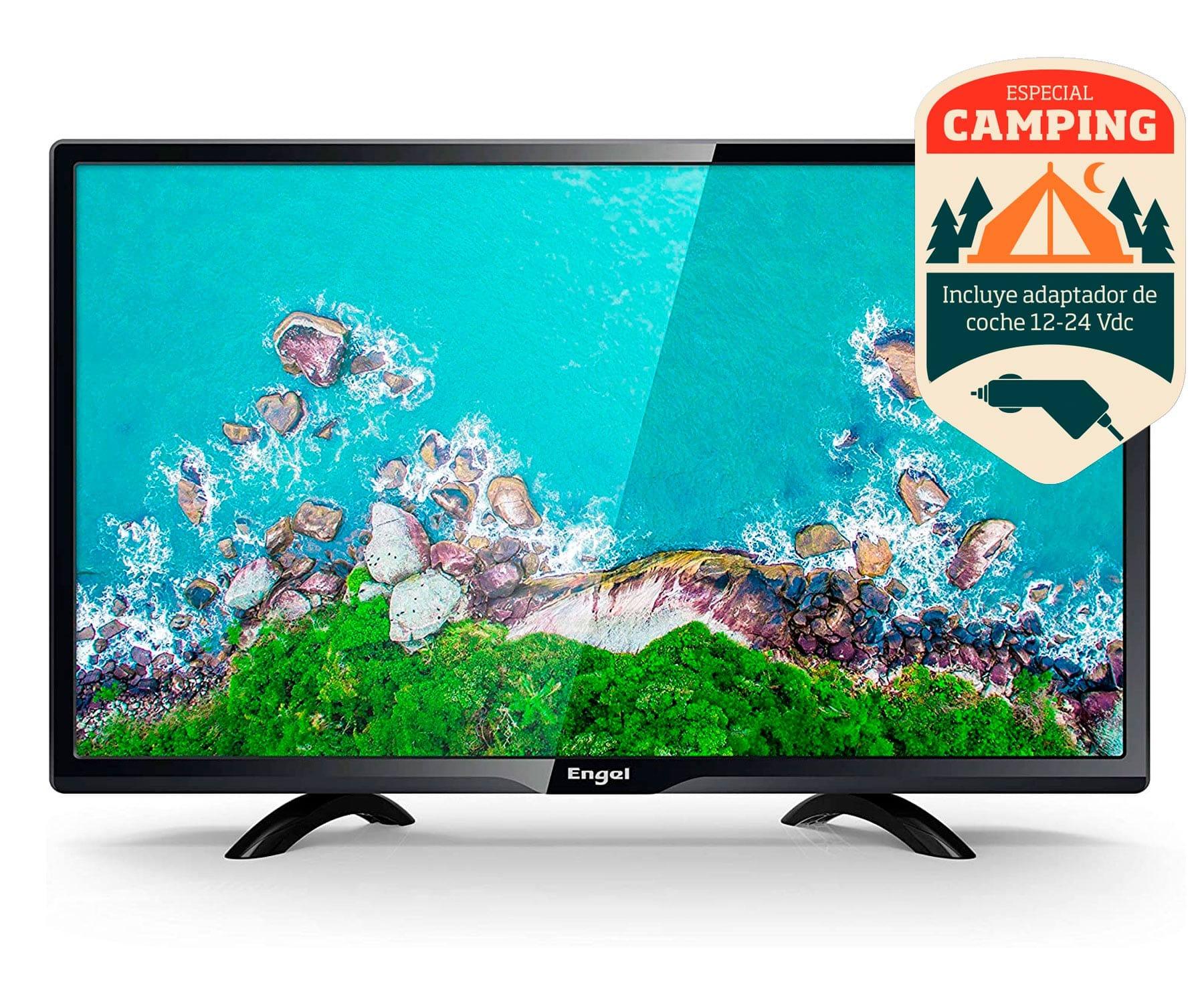 Engel 24LE2462T2 TV 24'' LED HD READY/Especial Camping/HDMI/VGA/USB